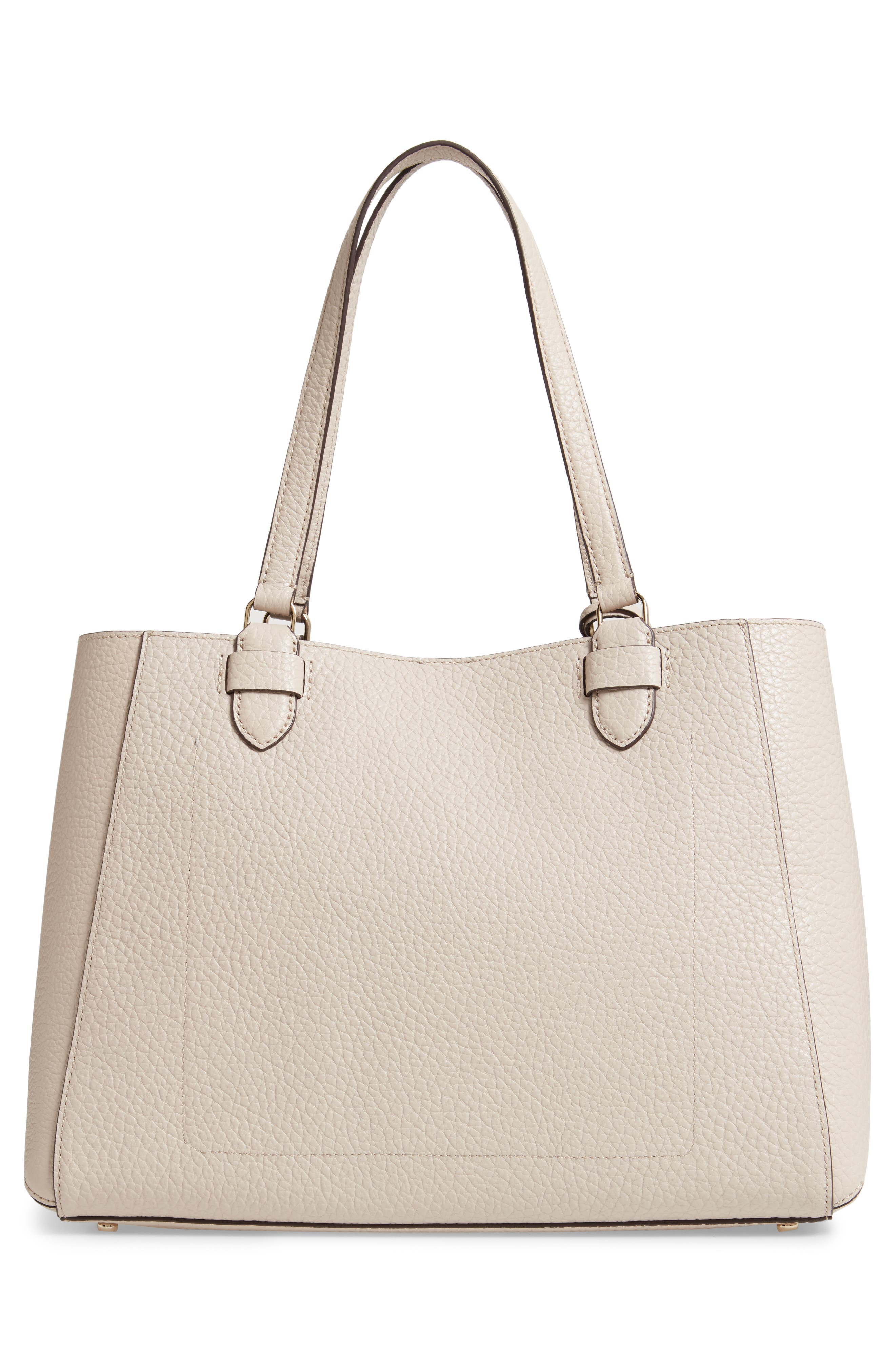 carter street - tyler leather tote,                             Alternate thumbnail 11, color,