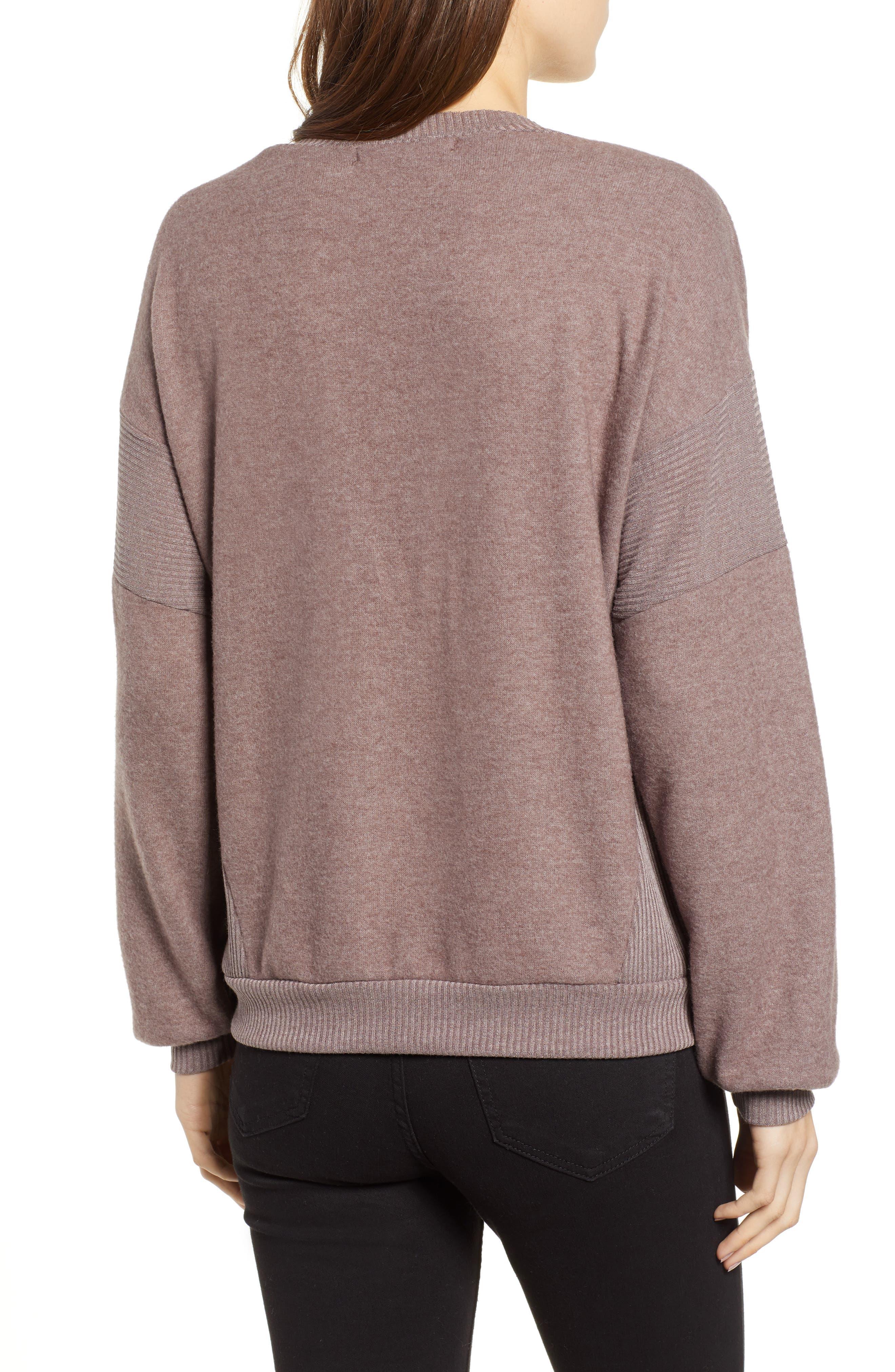 Alsen V-Neck Sweatshirt,                             Alternate thumbnail 2, color,                             250