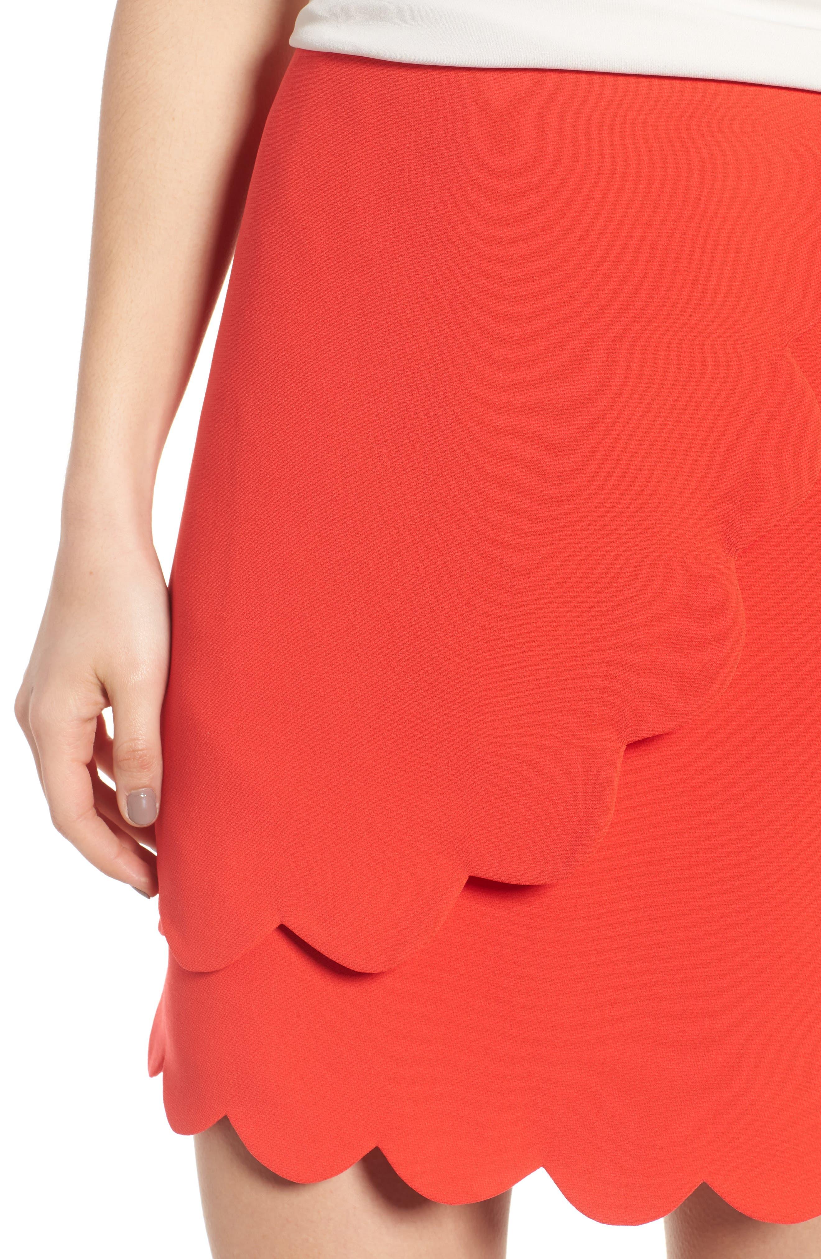 Scallop Skirt,                             Alternate thumbnail 8, color,
