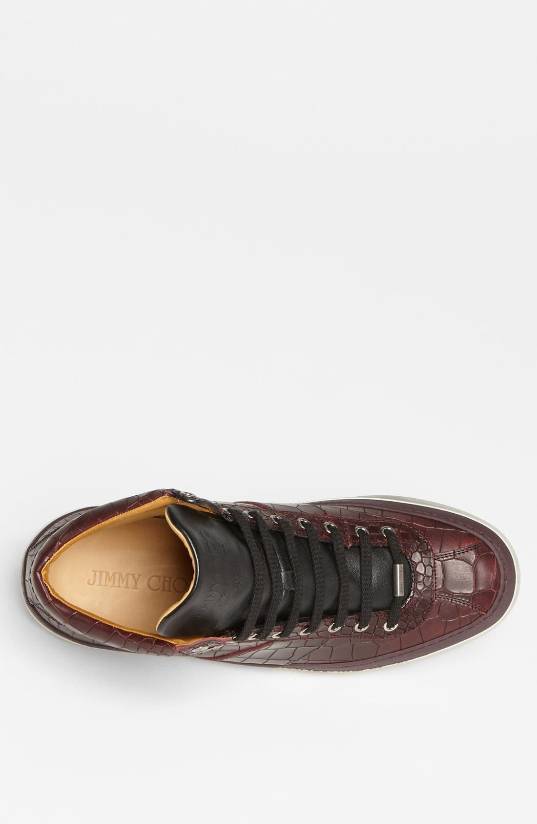 Belgravia High Top Sneaker,                             Alternate thumbnail 5, color,