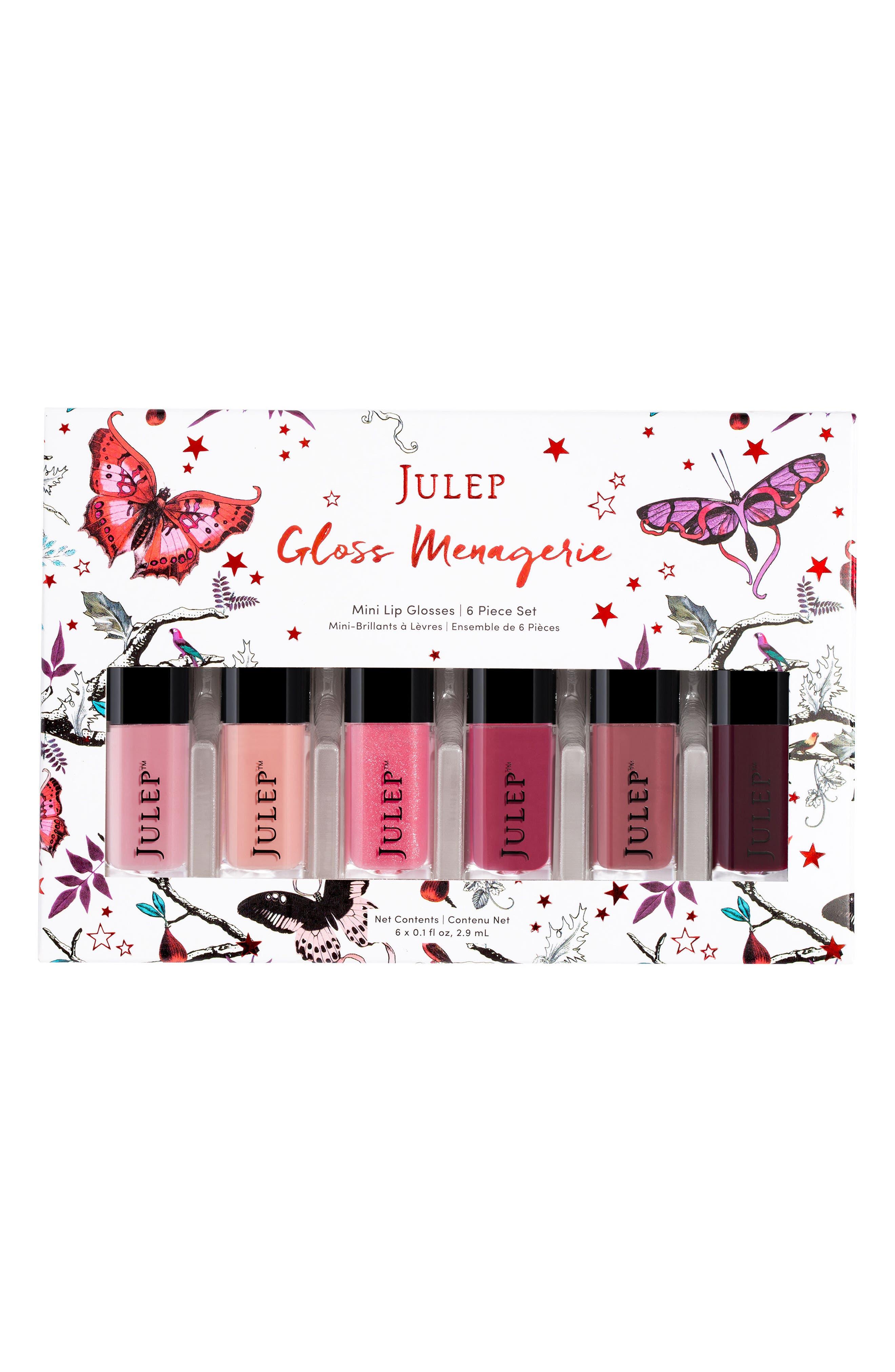 Julep<sup>™</sup> Gloss Menagerie 6-Pack Mini Lip Gloss Set,                             Alternate thumbnail 2, color,                             650