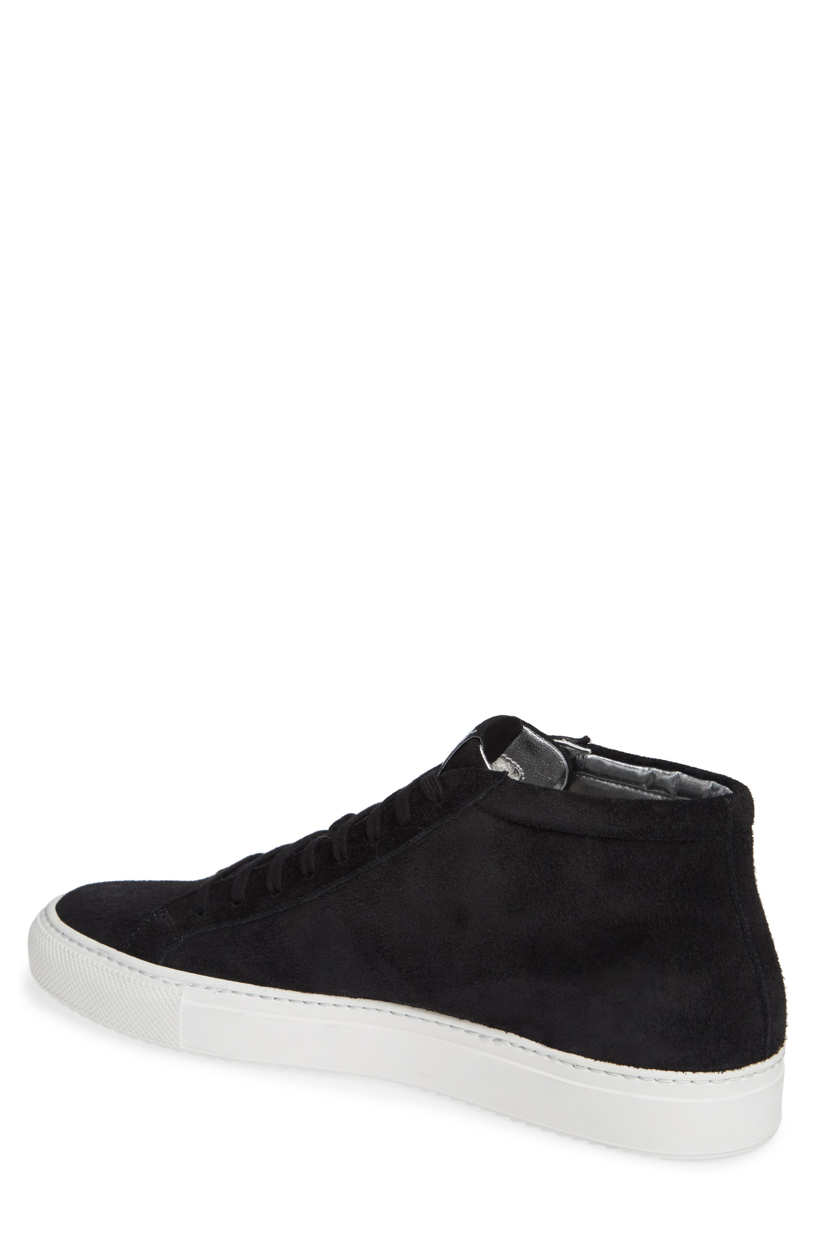 A8Elevent Mid Sneaker,                             Alternate thumbnail 2, color,                             BLACK BRUSH