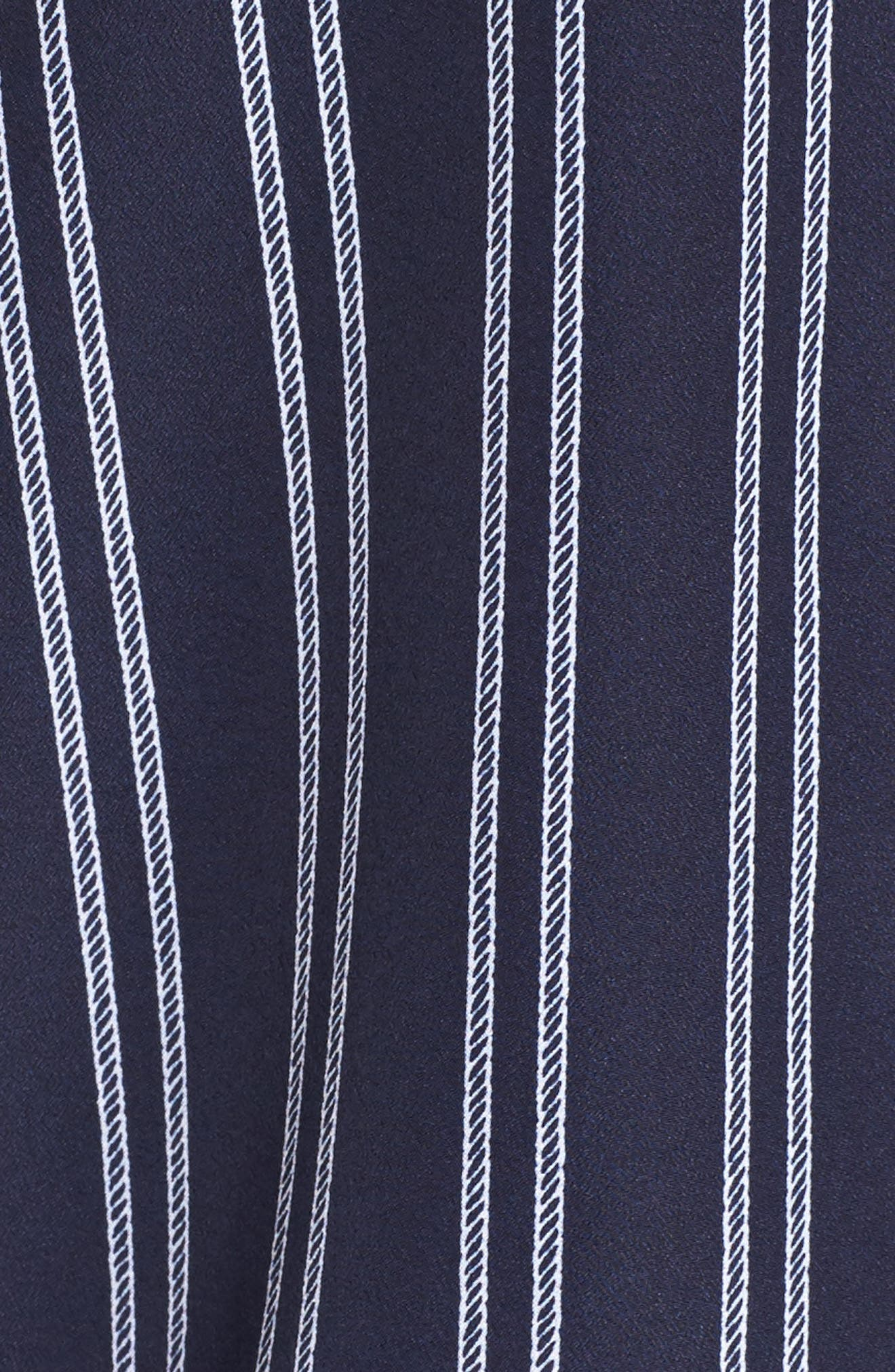 Bengal Stripe Zip Shirt Jacket,                             Alternate thumbnail 5, color,                             456