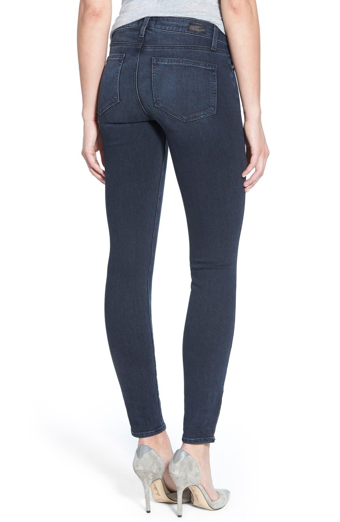Denim 'Jill' Ultra Skinny Jeans,                             Alternate thumbnail 2, color,                             400
