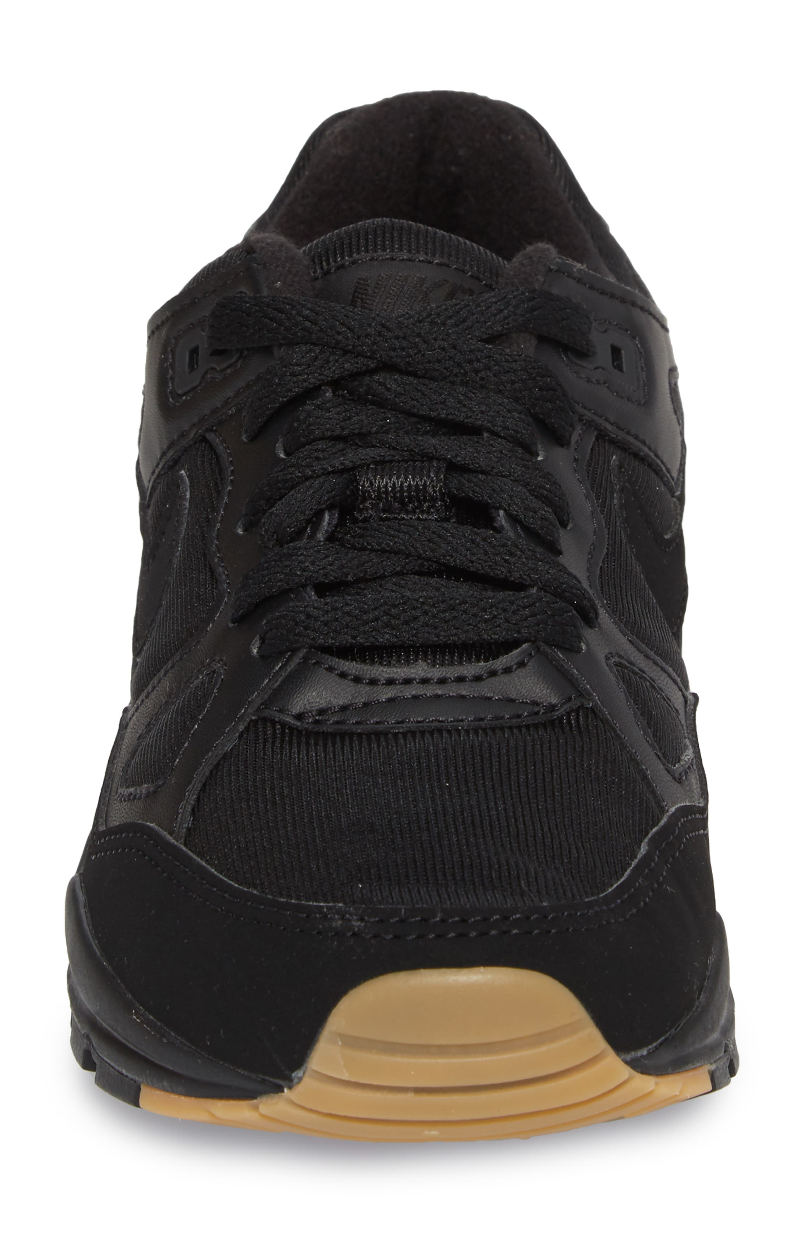 Air Span II Sneaker,                             Alternate thumbnail 4, color,                             BLACK/ BLACK/ BLACK
