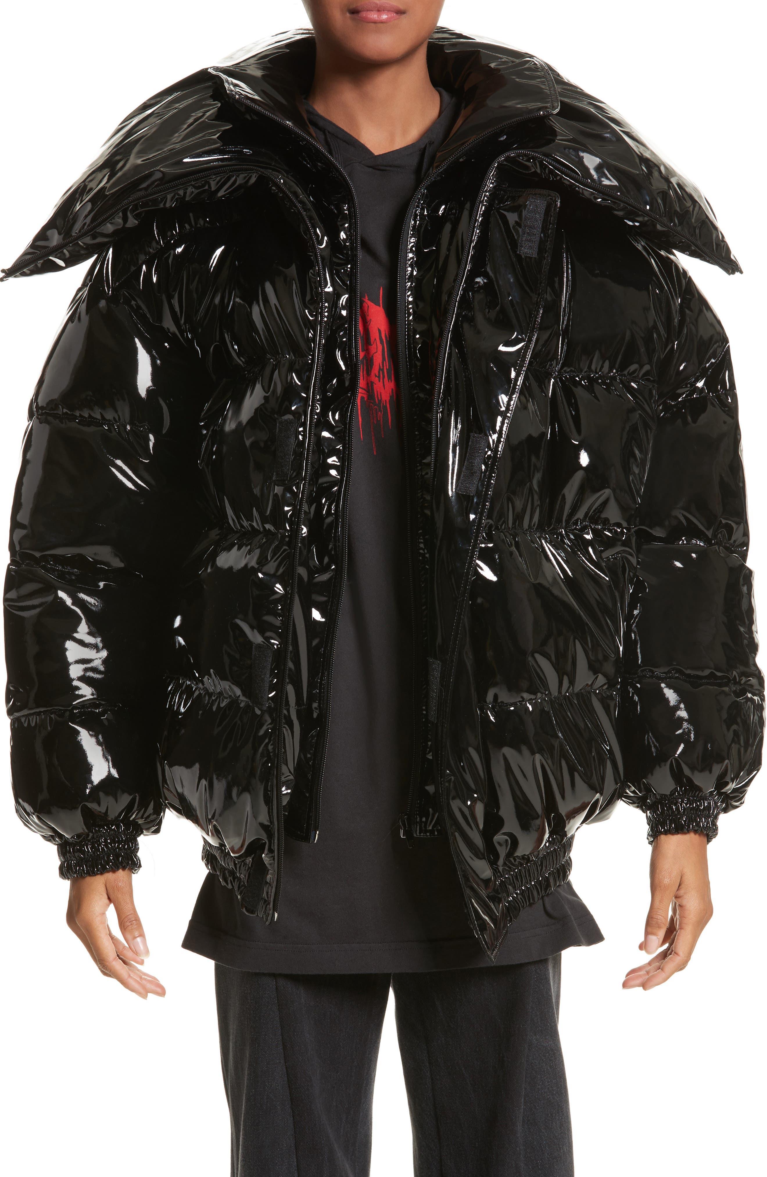 Miss Webcam Puffer Jacket,                         Main,                         color, 001