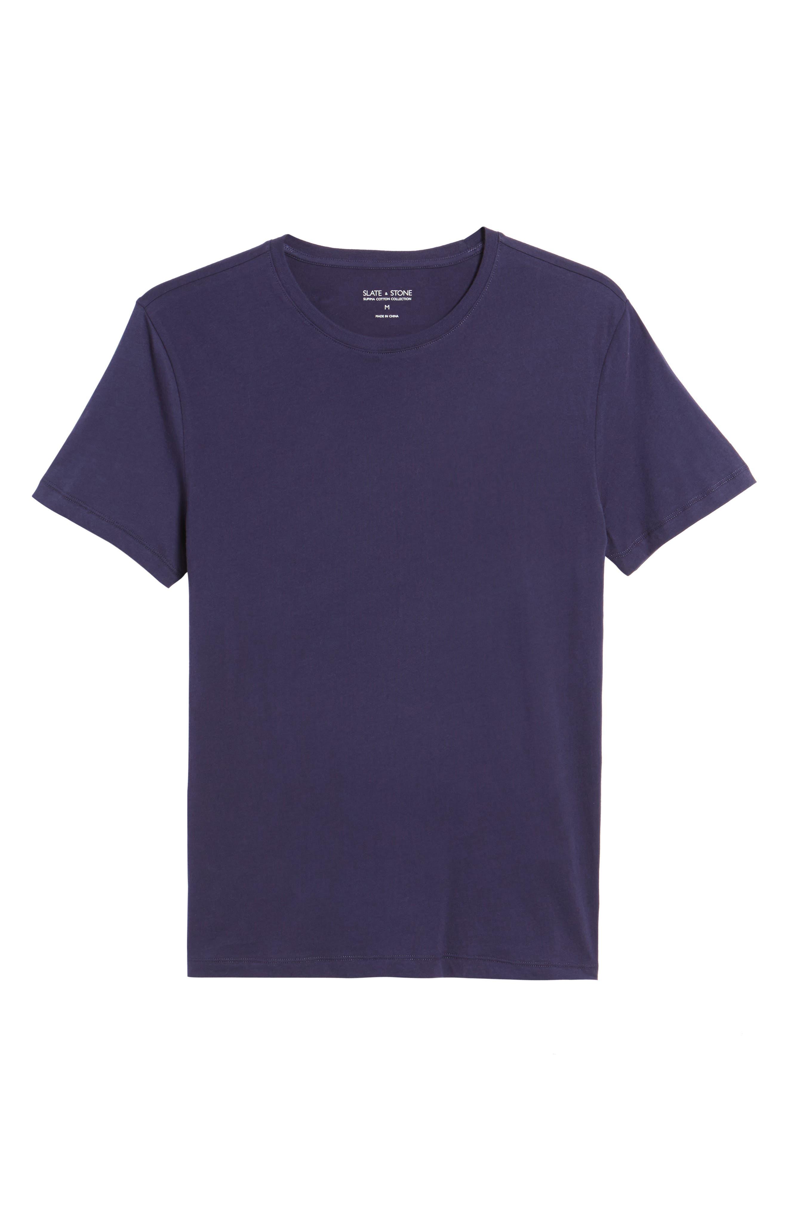 Solid T-Shirt,                             Alternate thumbnail 18, color,