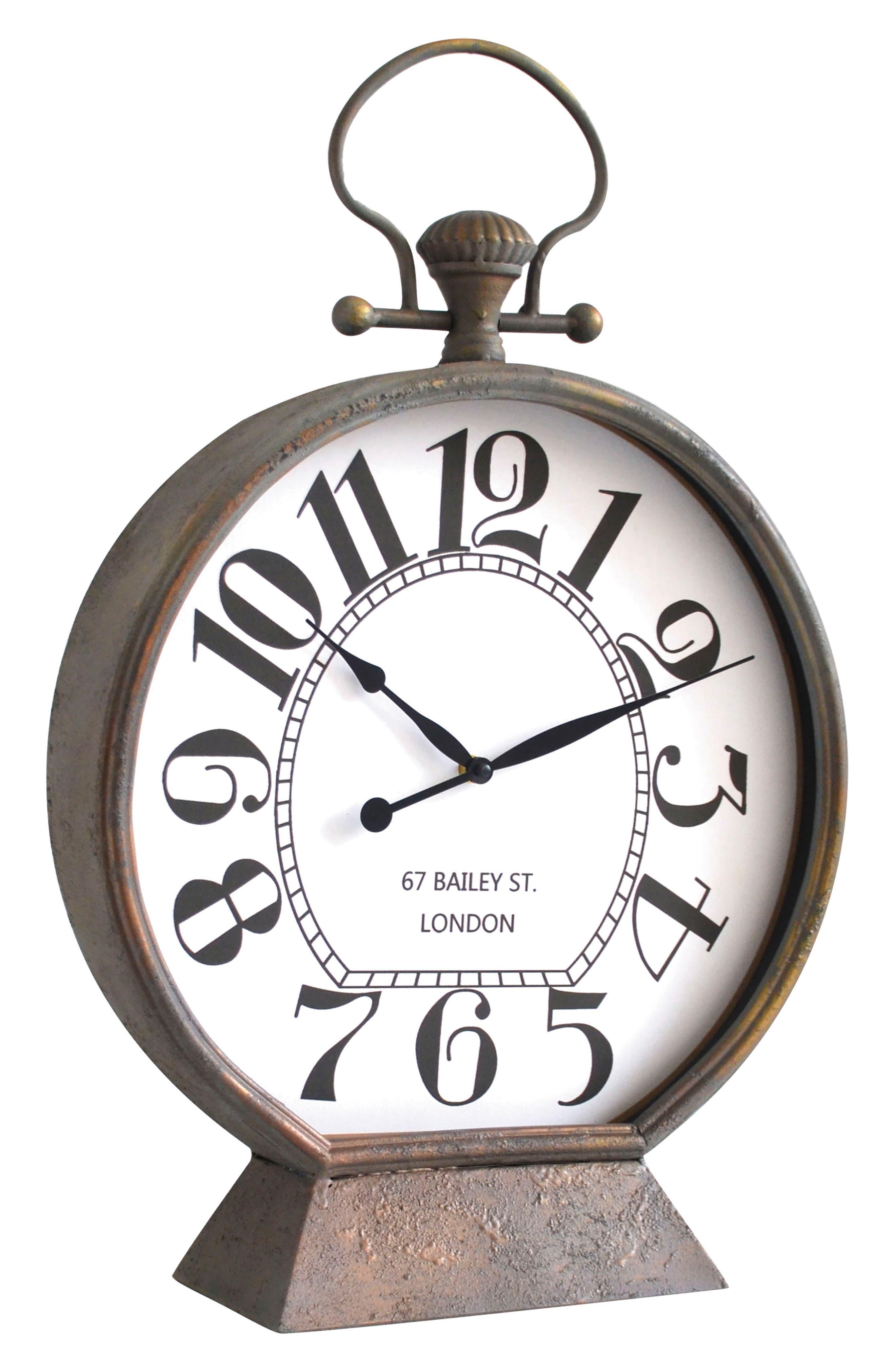 Scholar Tabletop Clock,                         Main,                         color, 200