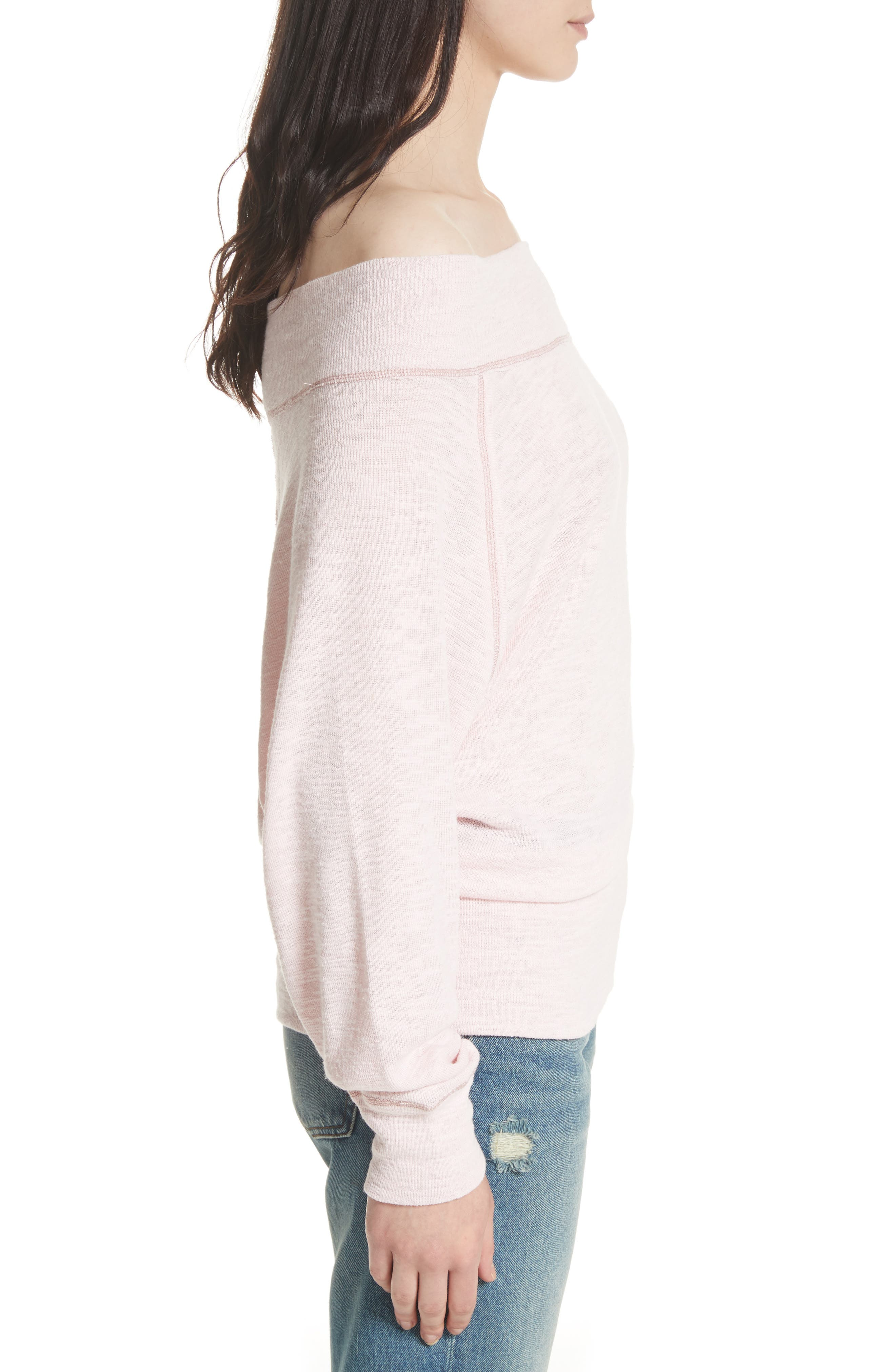 Palisades Off the Shoulder Top,                             Alternate thumbnail 24, color,