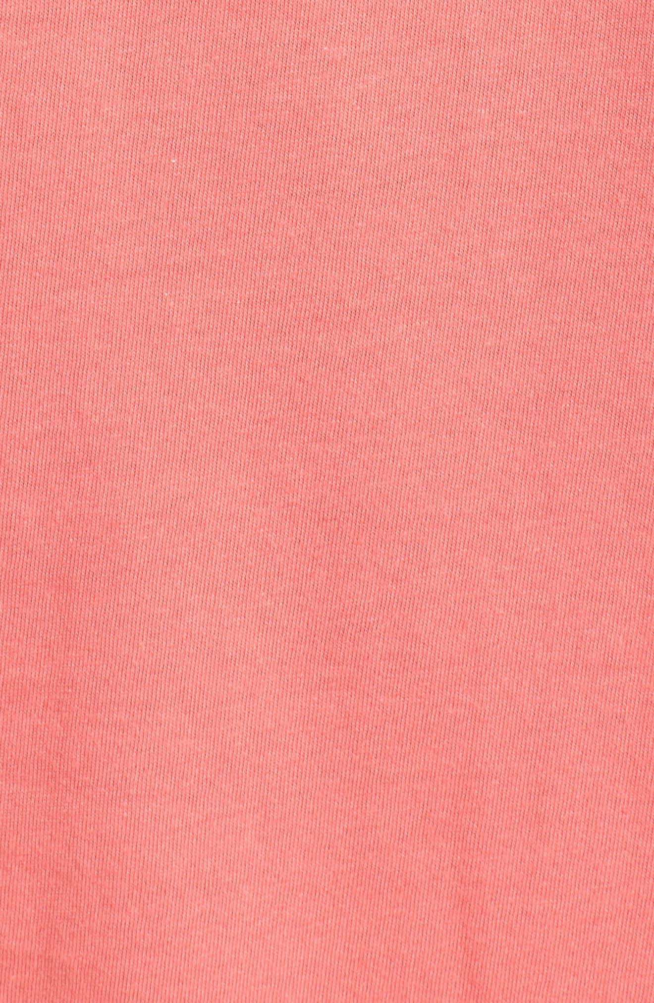 Zoit Graphic T-Shirt,                             Alternate thumbnail 5, color,                             CORAL ZOIT