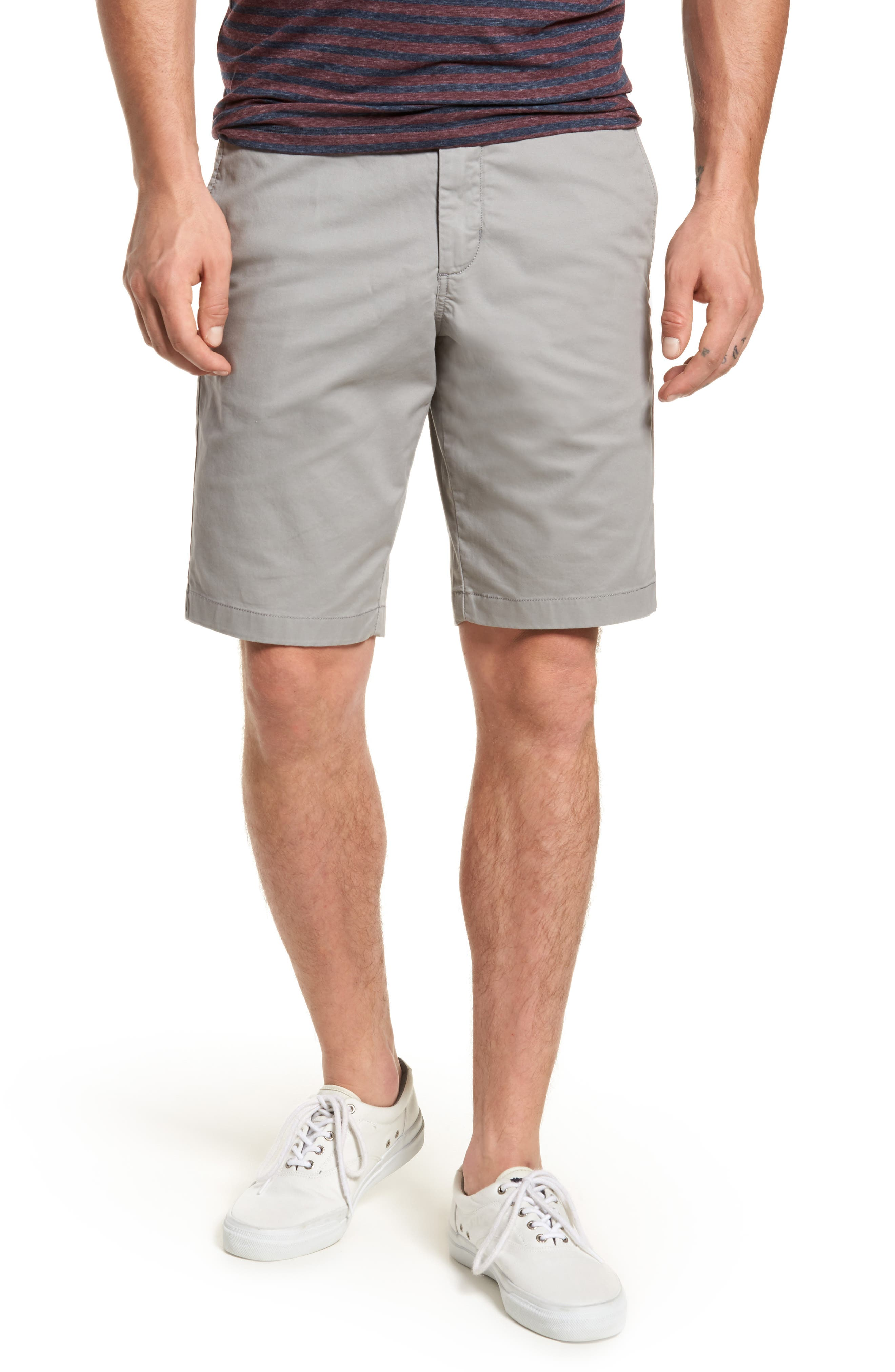 Ballard Slim Fit Stretch Chino 11-Inch Shorts,                             Main thumbnail 2, color,