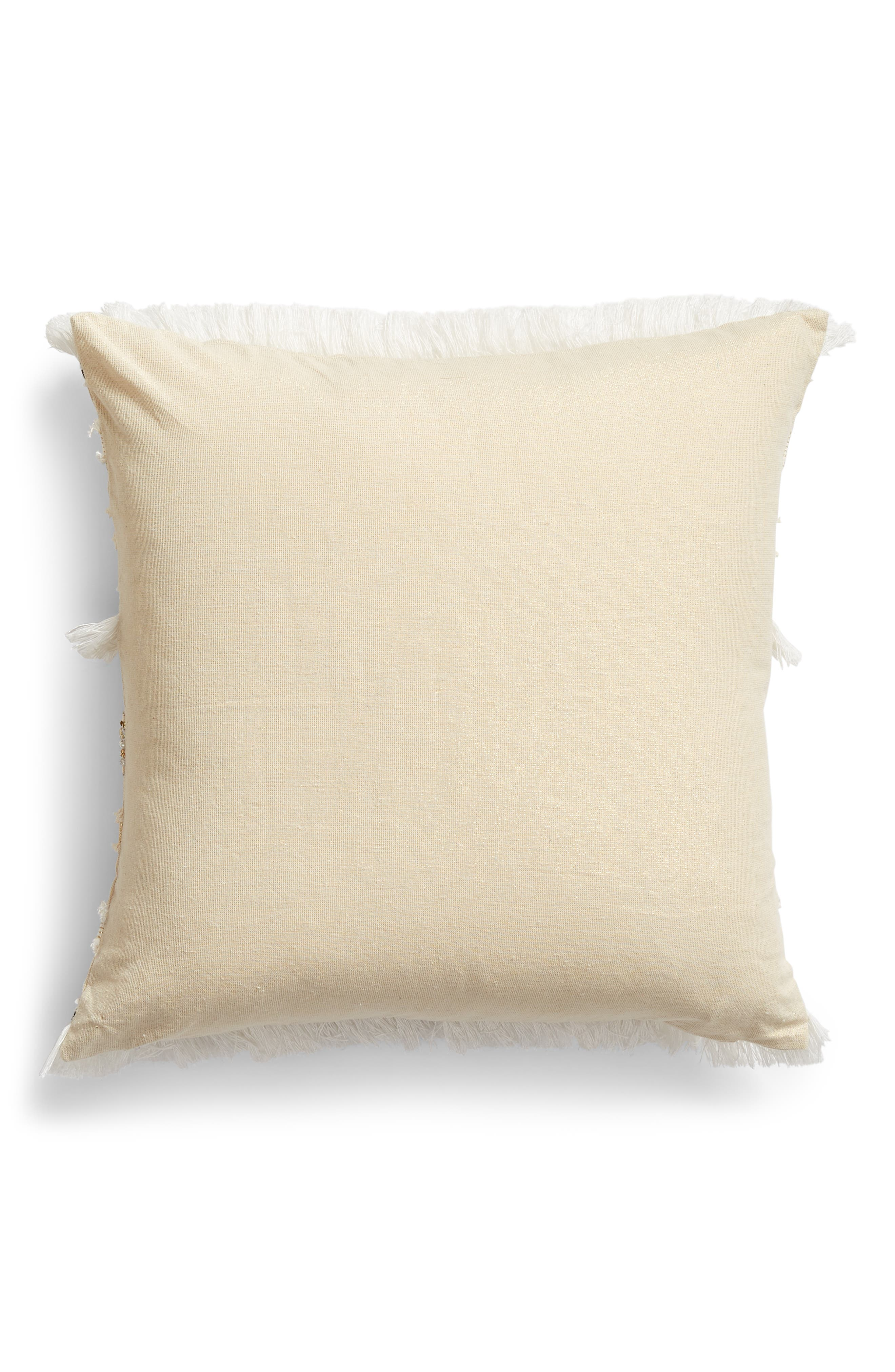 LEVTEX,                             Emory Trim Pillow,                             Alternate thumbnail 2, color,                             250