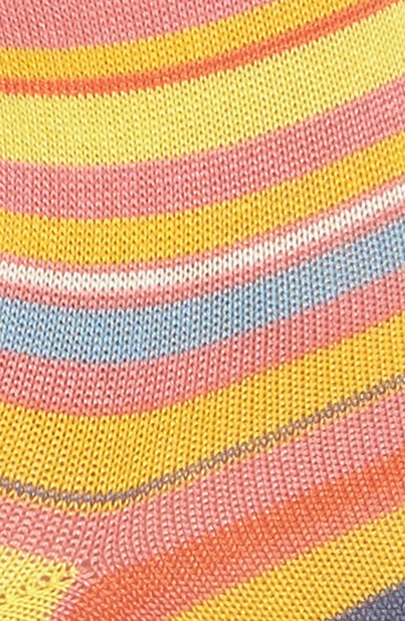 Fleur Crew Socks,                             Alternate thumbnail 2, color,                             700