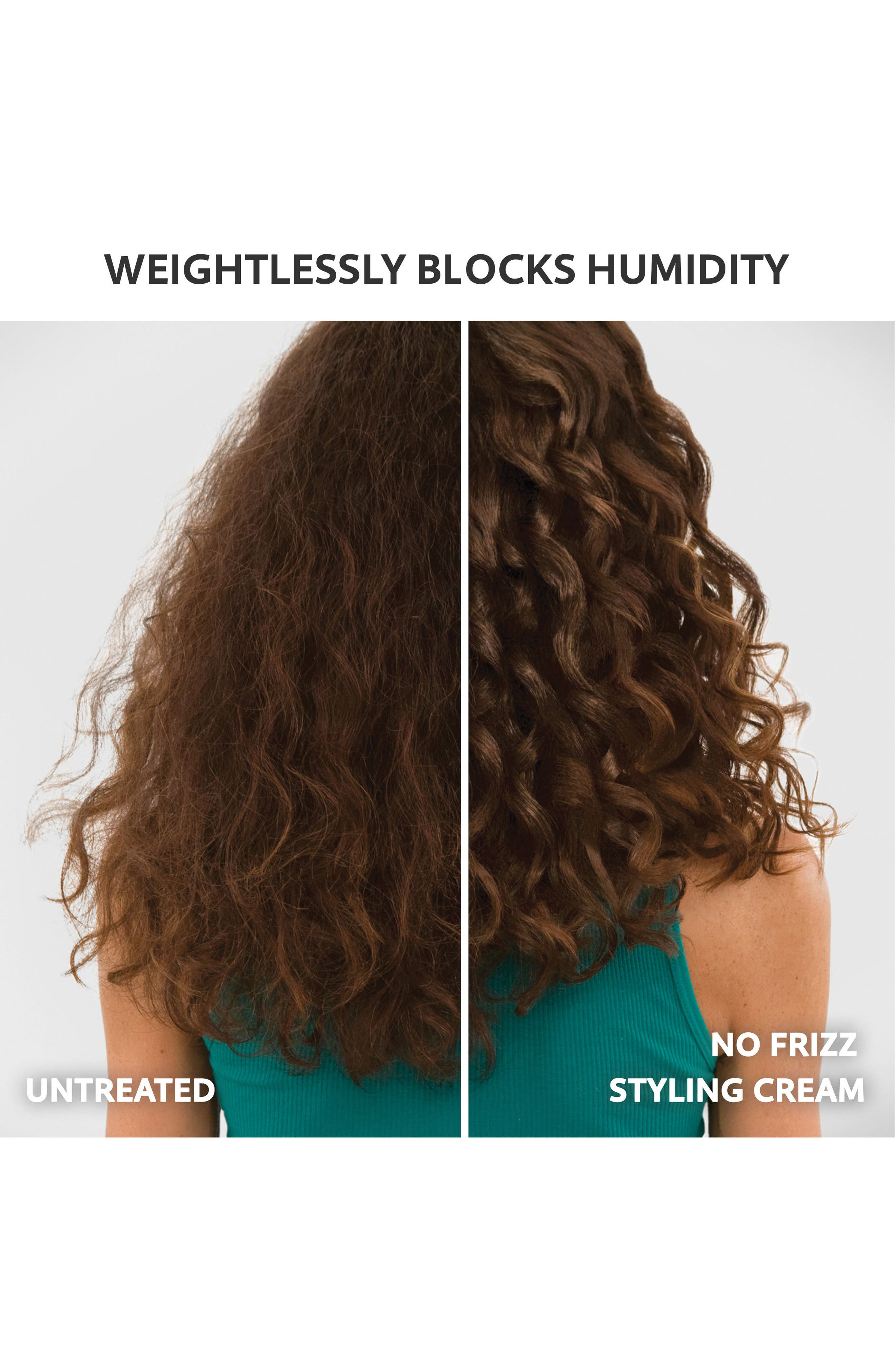 No Frizz Nourishing Styling Cream,                             Alternate thumbnail 3, color,                             NO COLOR