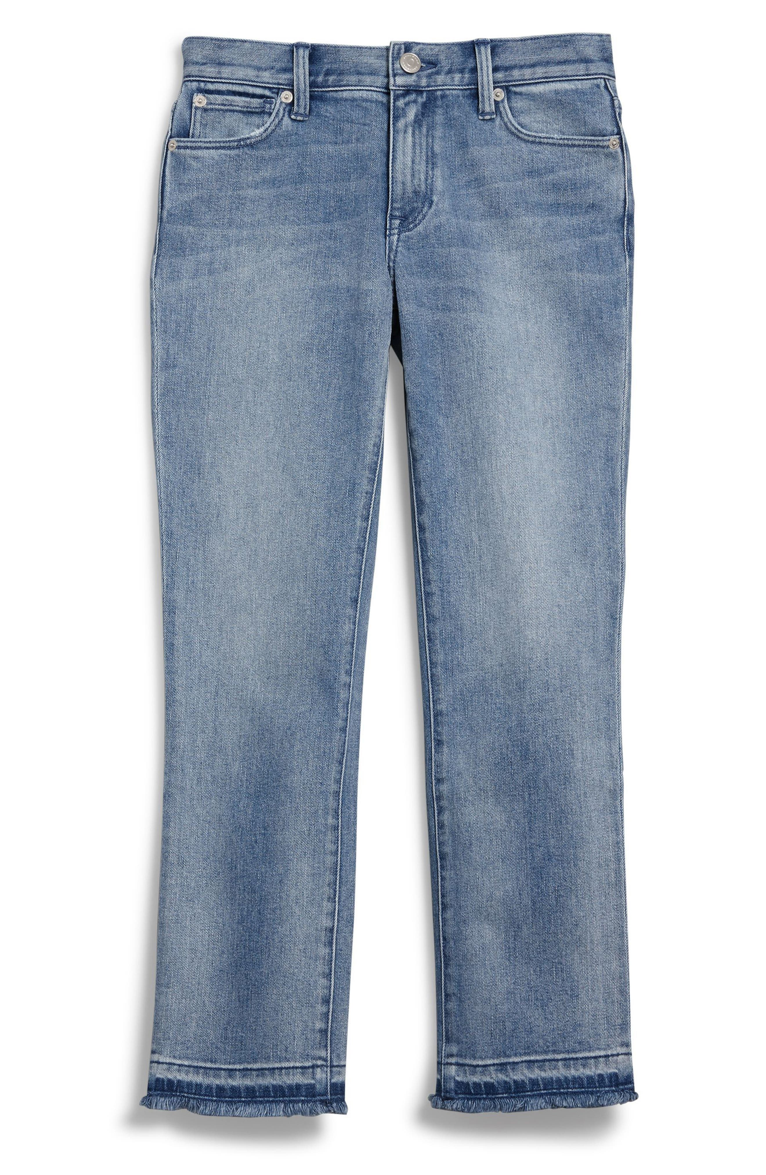 Relaxed Crop Jeans,                             Alternate thumbnail 6, color,                             456
