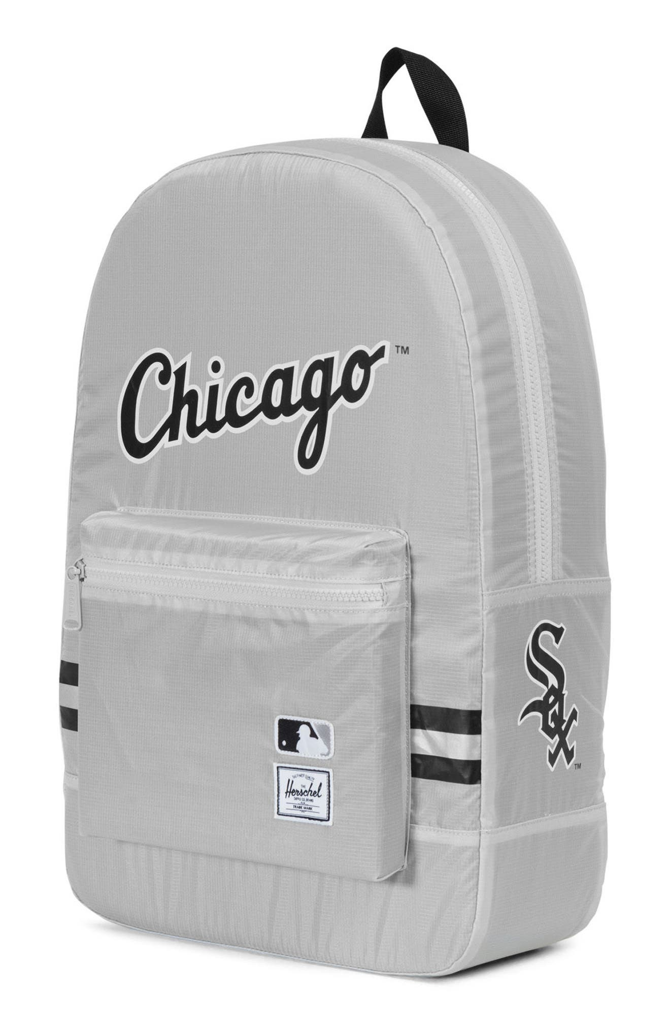 Packable - MLB American League Backpack,                             Alternate thumbnail 3, color,                             020