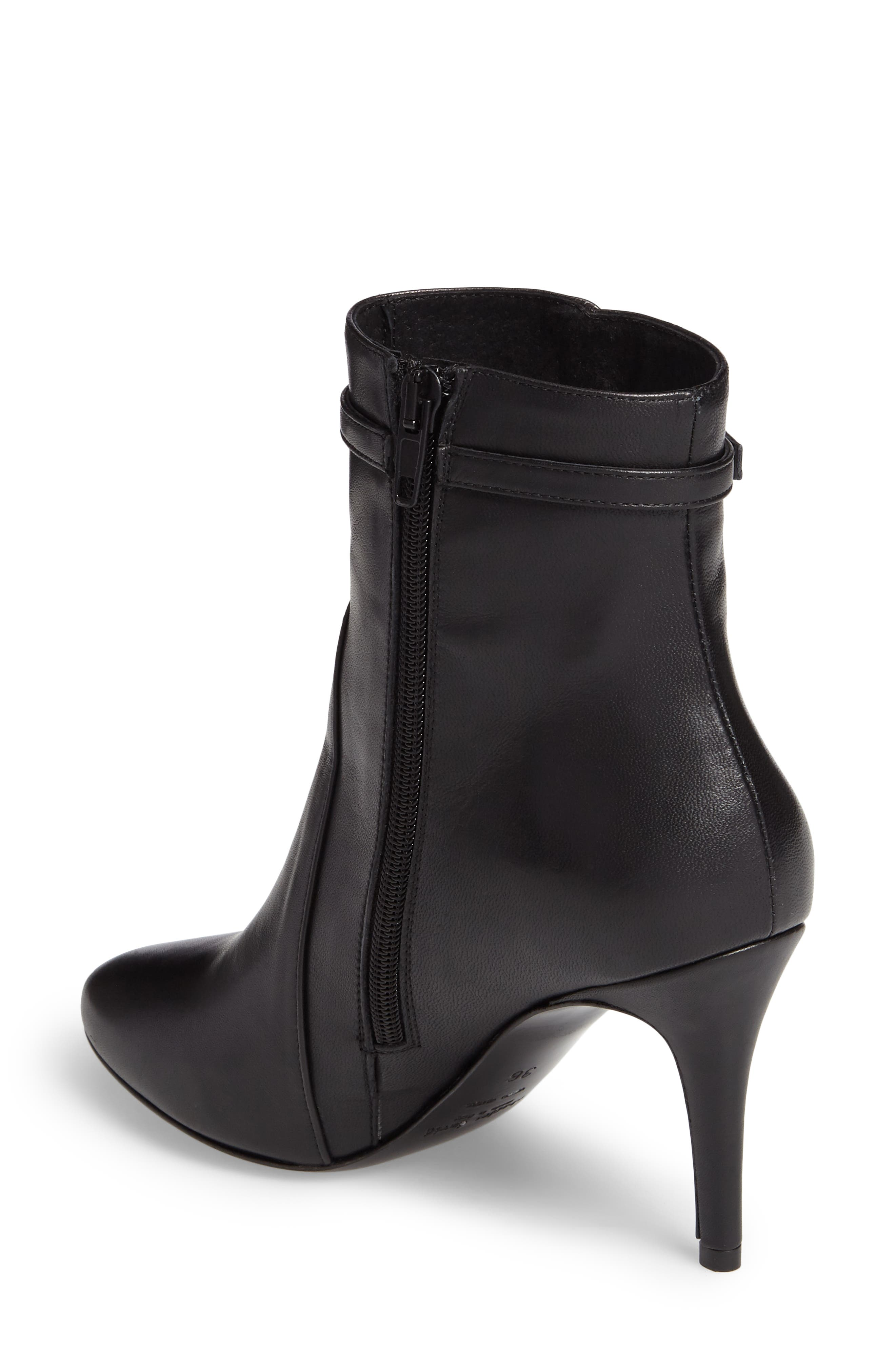 Prism Buckle Strap Bootie,                             Alternate thumbnail 2, color,                             001