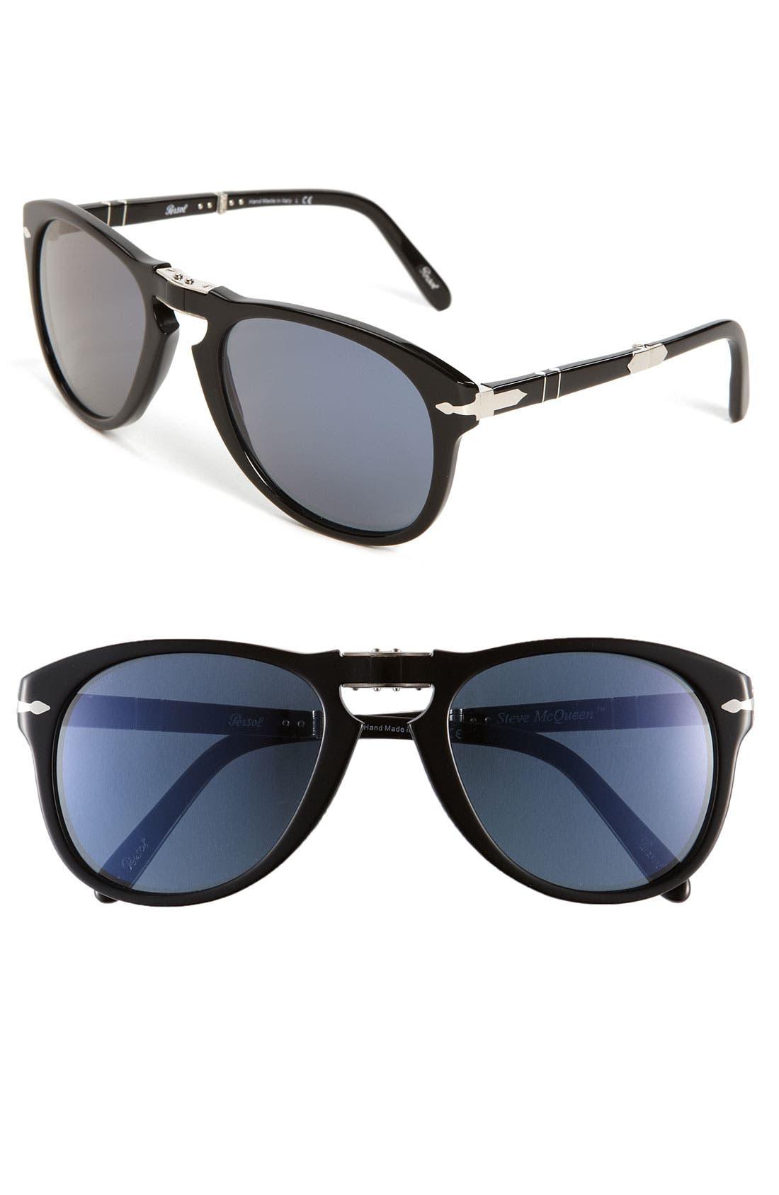 'Steve McQueen<sup>™</sup>' Folding Sunglasses,                         Main,                         color, 014