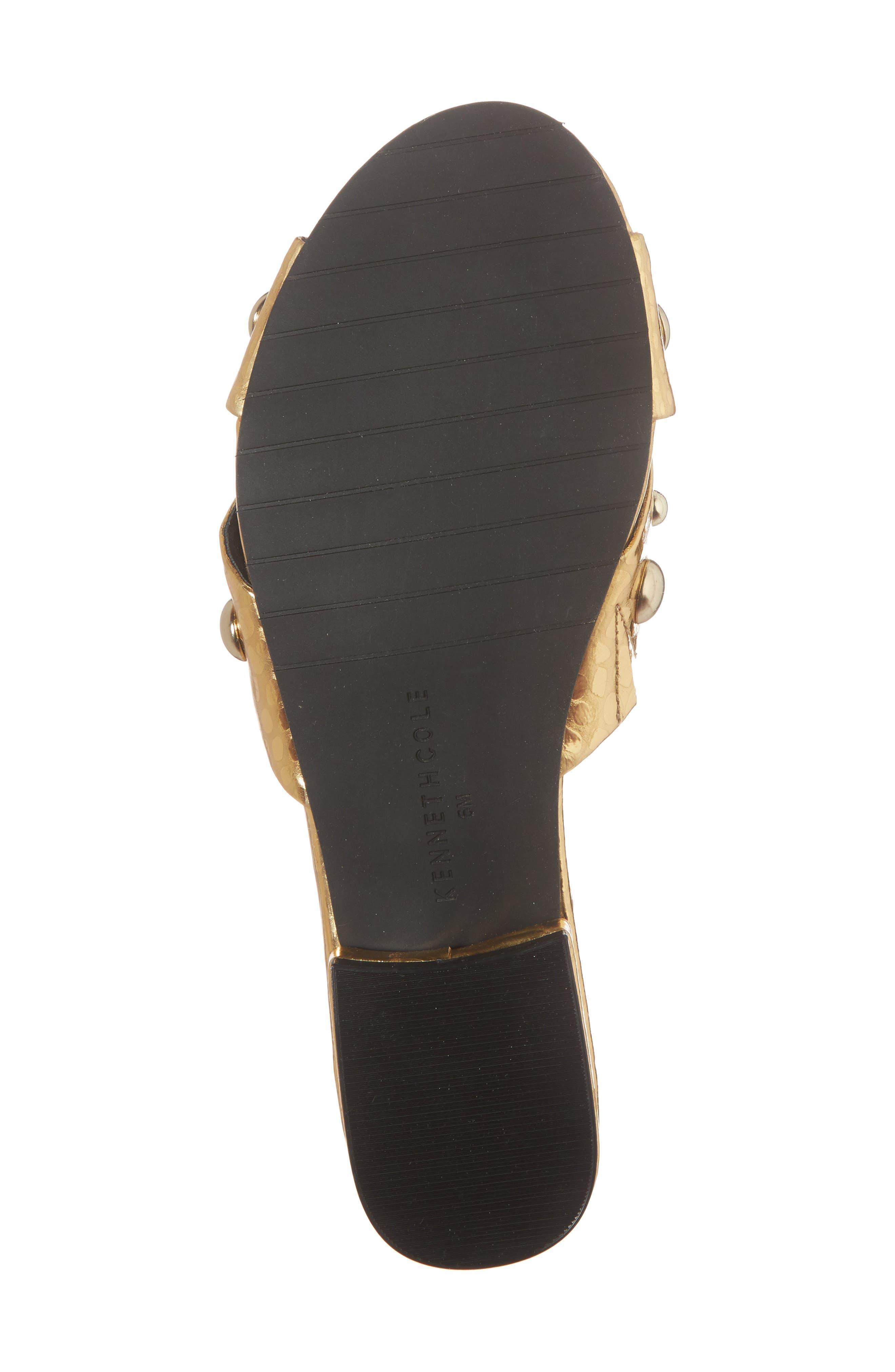 Verna Studded Slide Sandal,                             Alternate thumbnail 18, color,