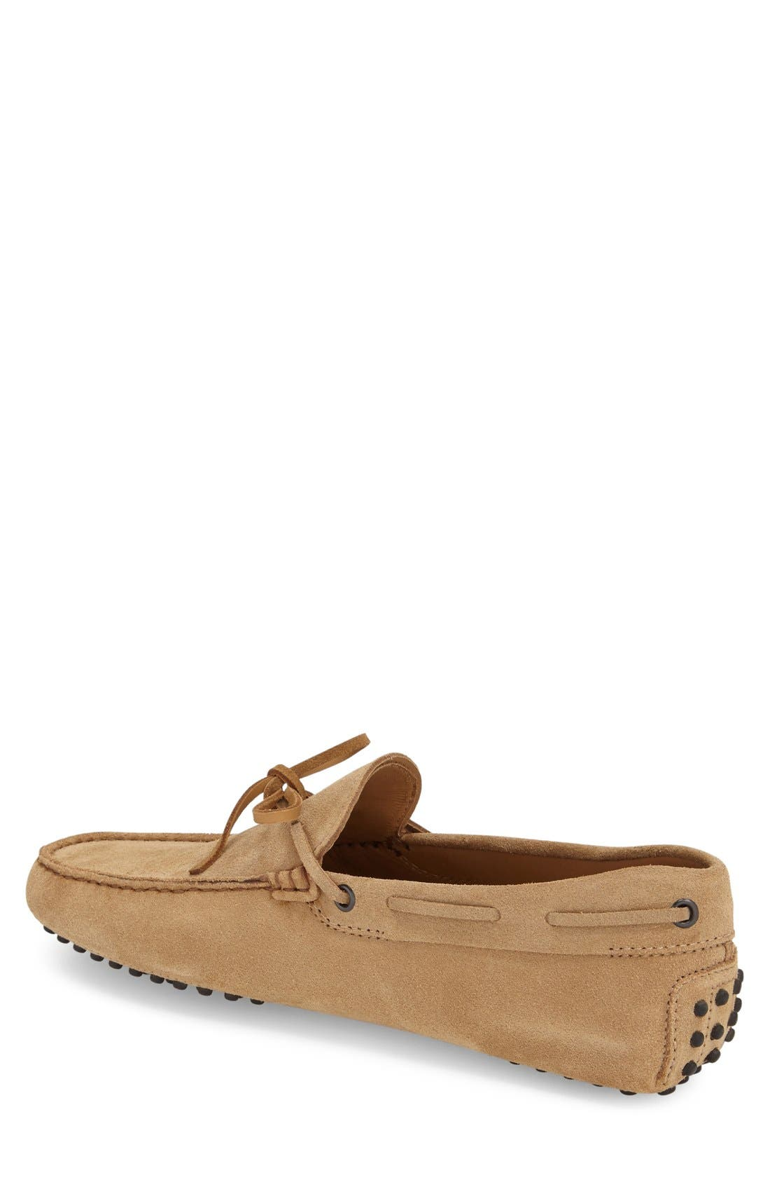 Gommini Tie Front Driving Moccasin,                             Alternate thumbnail 30, color,