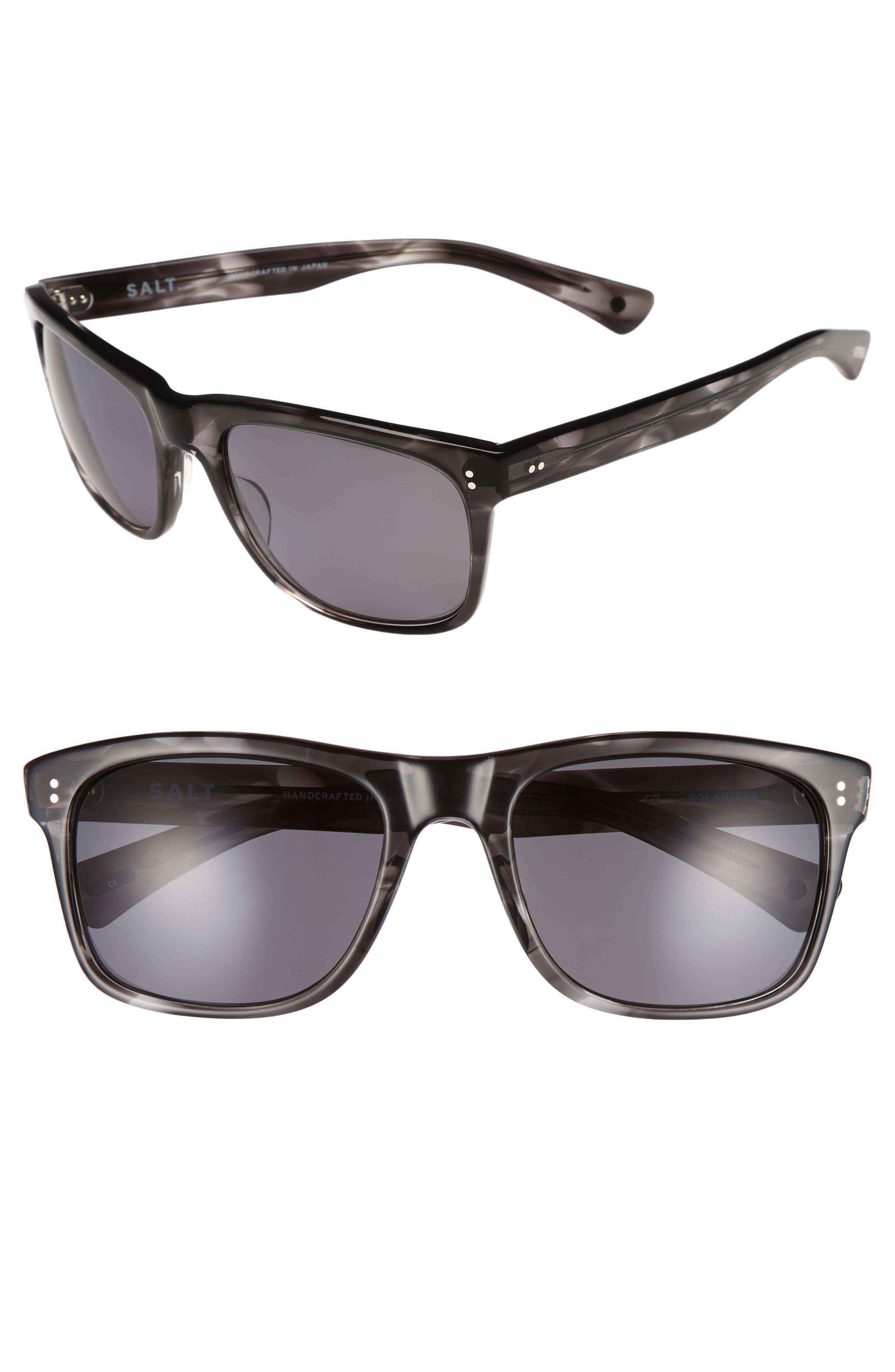 Tufnel 52mm Polarized Sunglasses,                         Main,                         color, COLD GREY