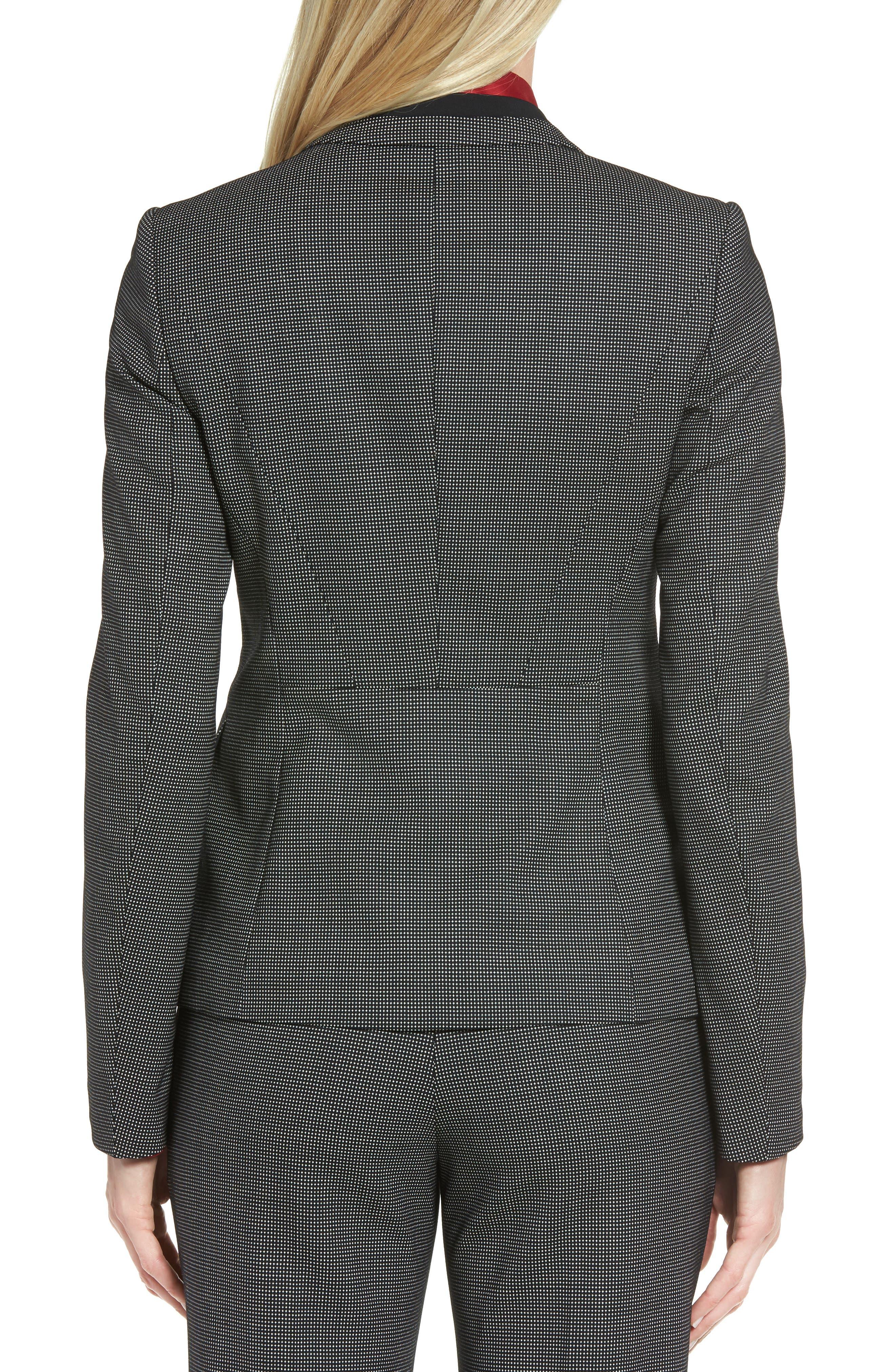 Jelisana Stretch Wool Suit Jacket,                             Alternate thumbnail 3, color,