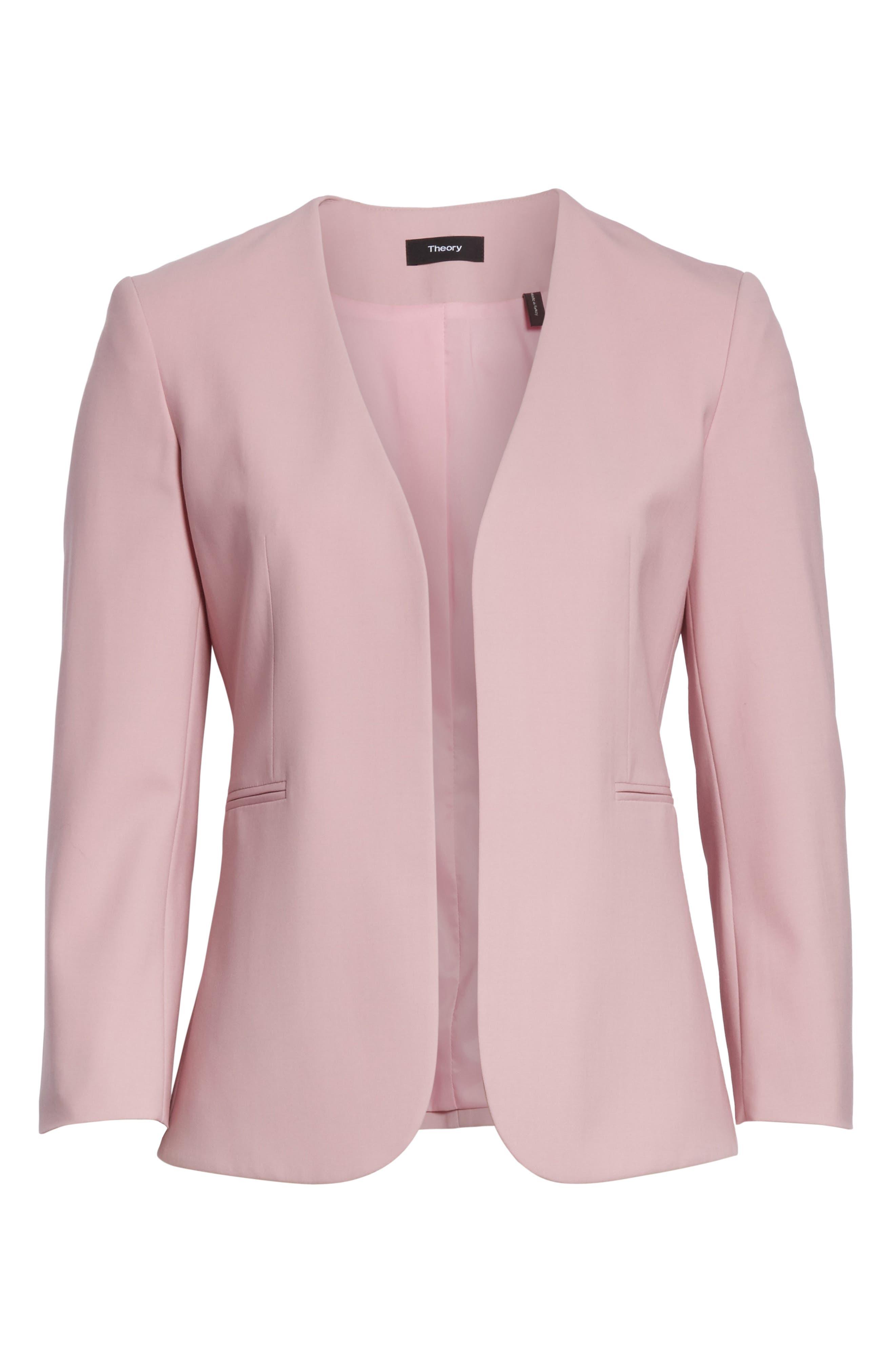 Lindrayia B Good Wool Suit Jacket,                             Alternate thumbnail 5, color,                             655