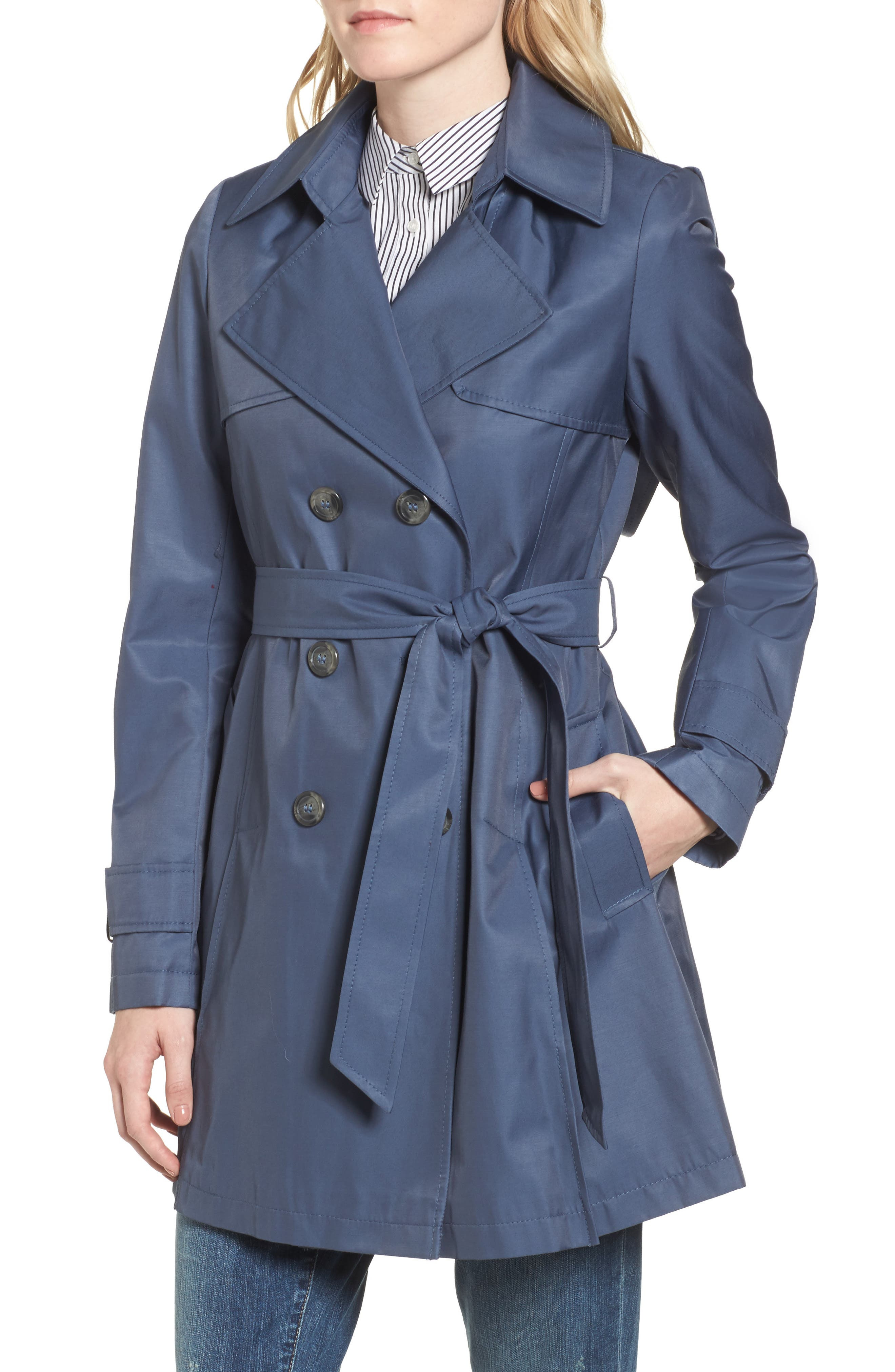 Detachable Hood Trench Coat,                             Alternate thumbnail 29, color,