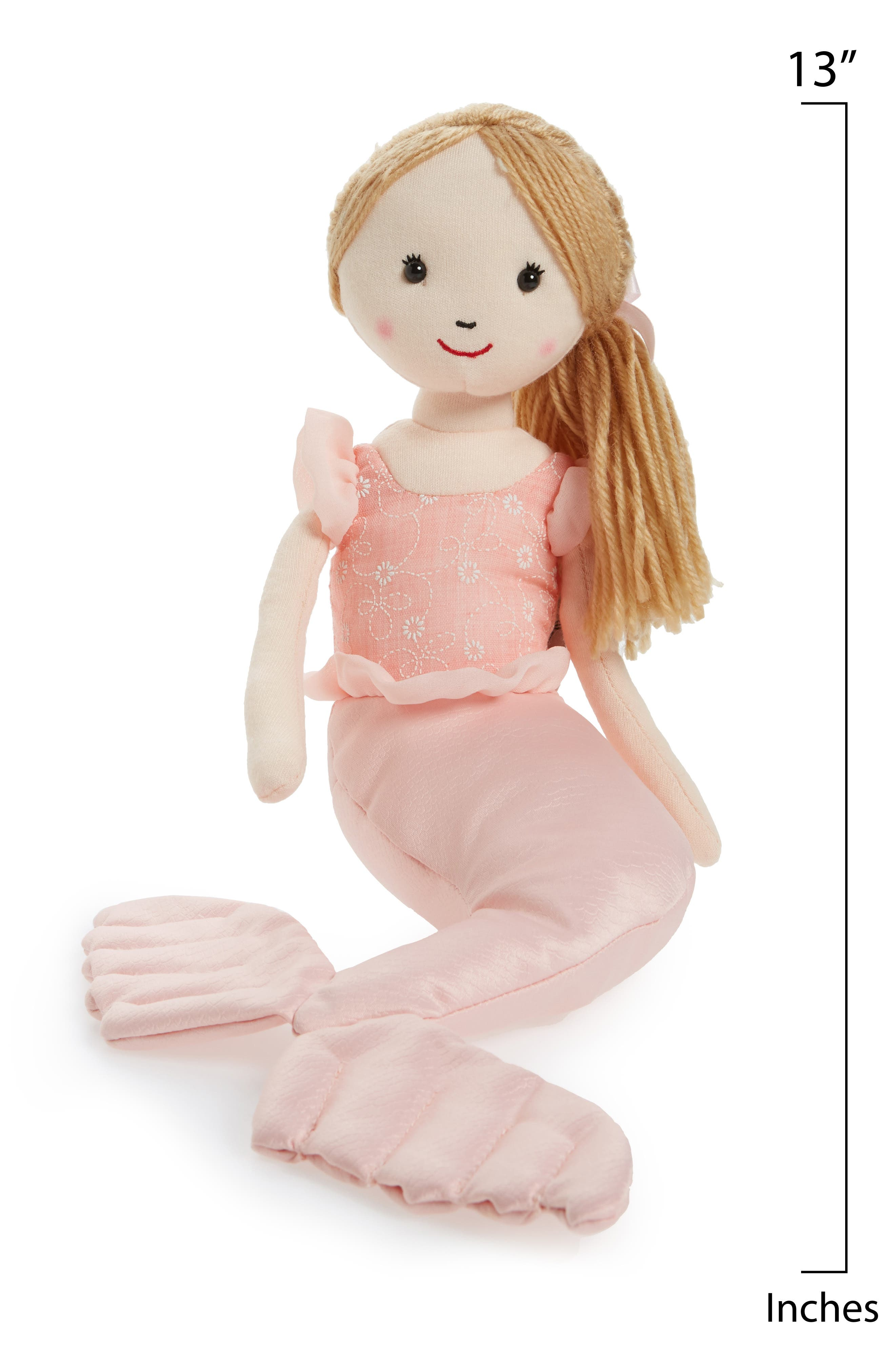 Shellbelle - Mermaid Millie Stuffed Toy,                             Alternate thumbnail 2, color,                             PINK