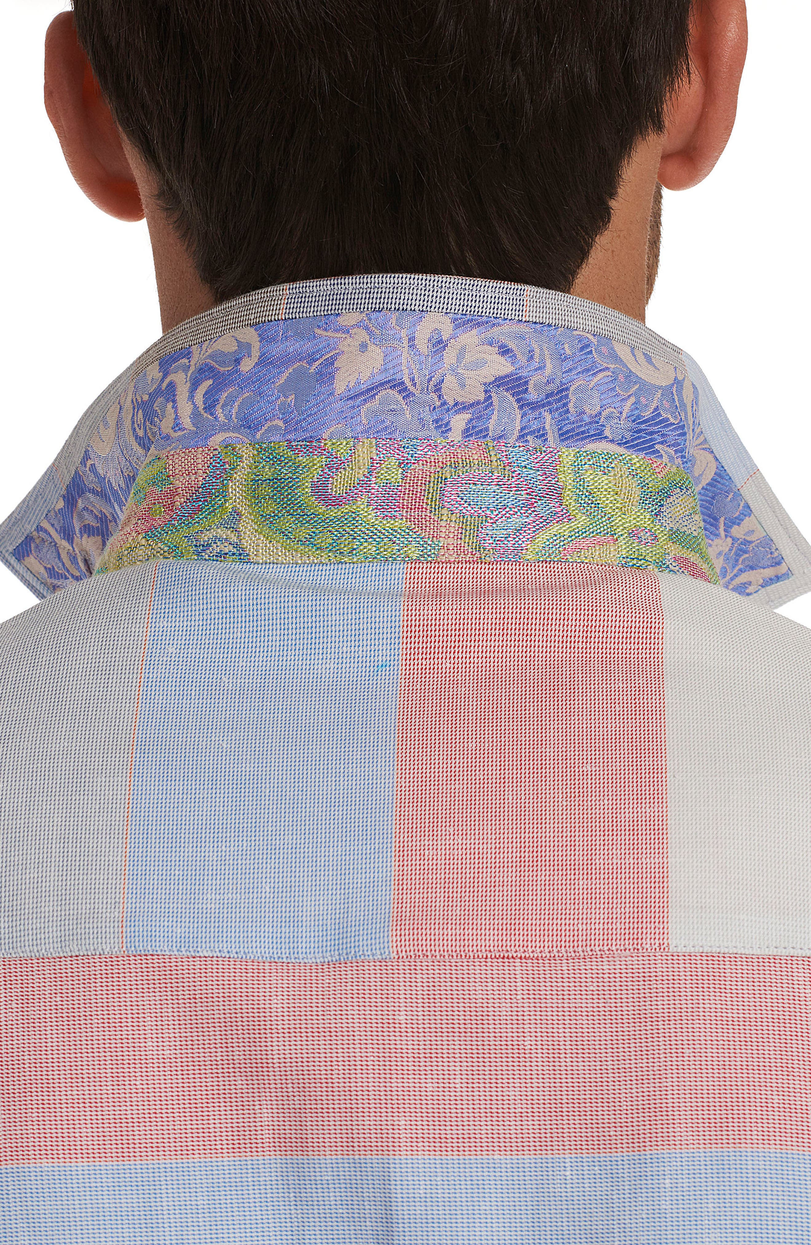 Denim Rays Limited Edition Sport Shirt,                             Alternate thumbnail 3, color,                             400