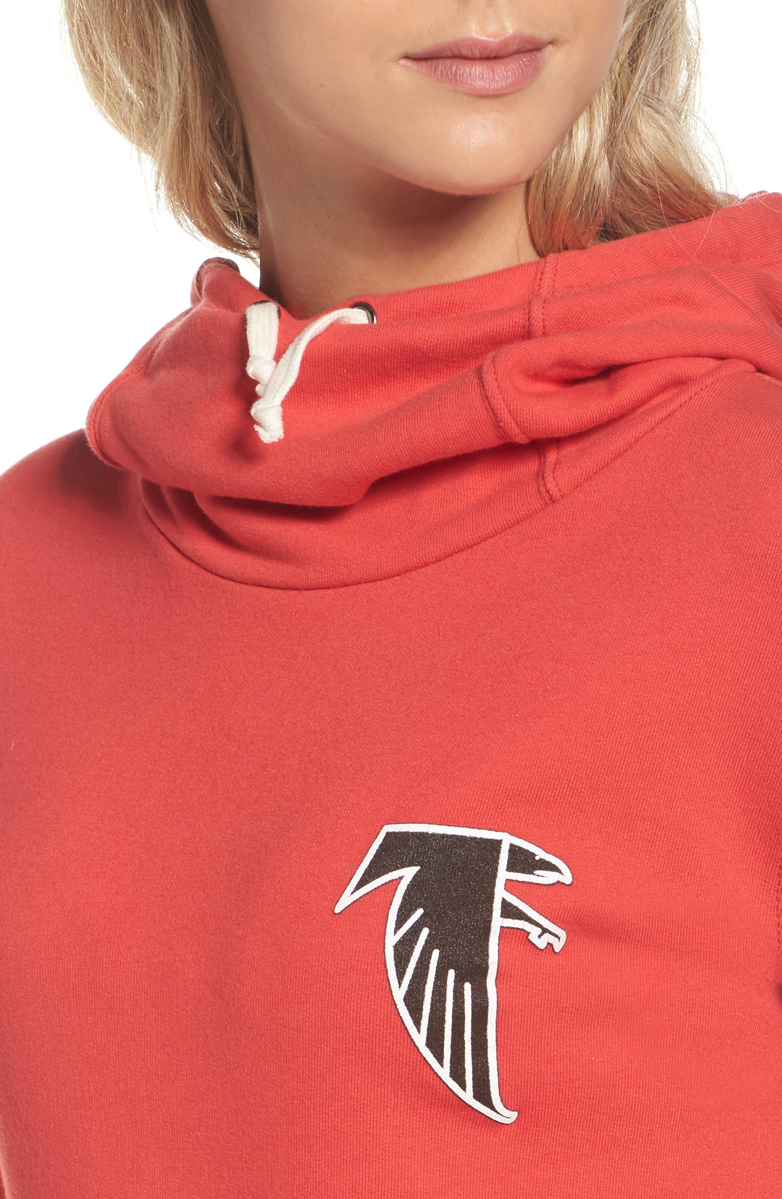 NFL Atlanta Falcons Sunday Hoodie,                             Alternate thumbnail 4, color,                             622