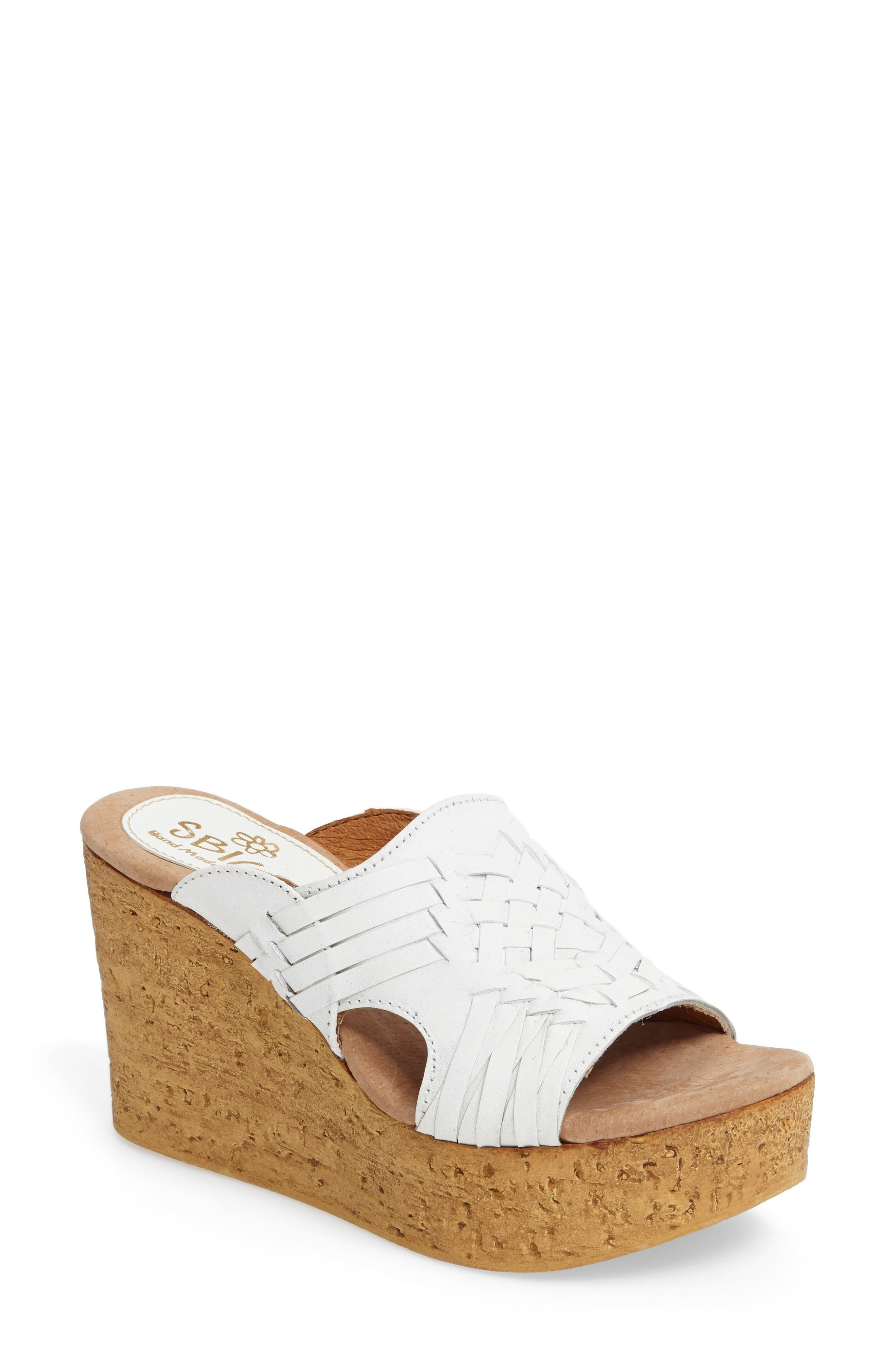 Manny Platform Wedge,                         Main,                         color,