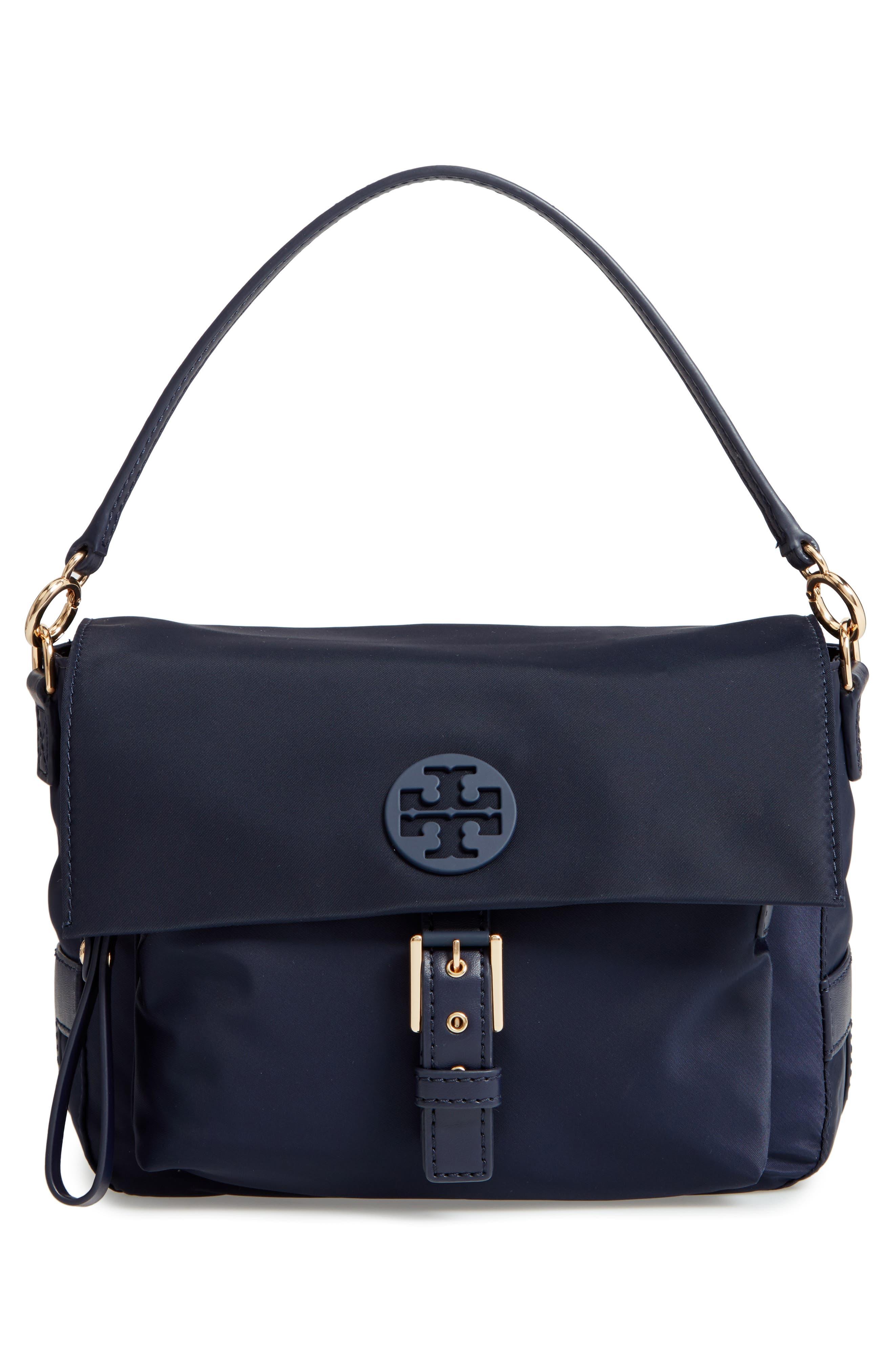 Tilda Nylon Crossbody Bag,                             Alternate thumbnail 3, color,                             400