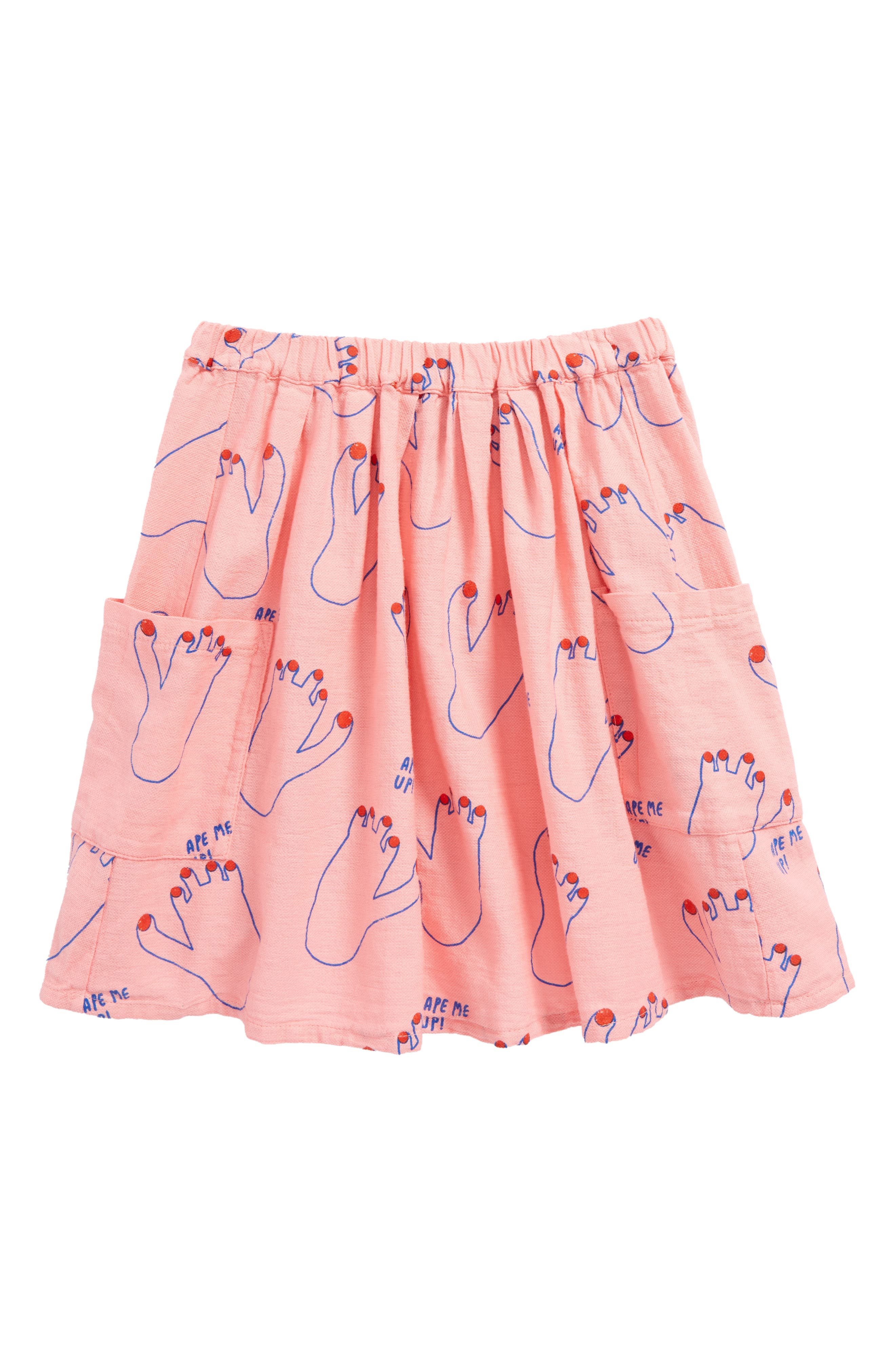 Footprint Skirt,                         Main,                         color, 660