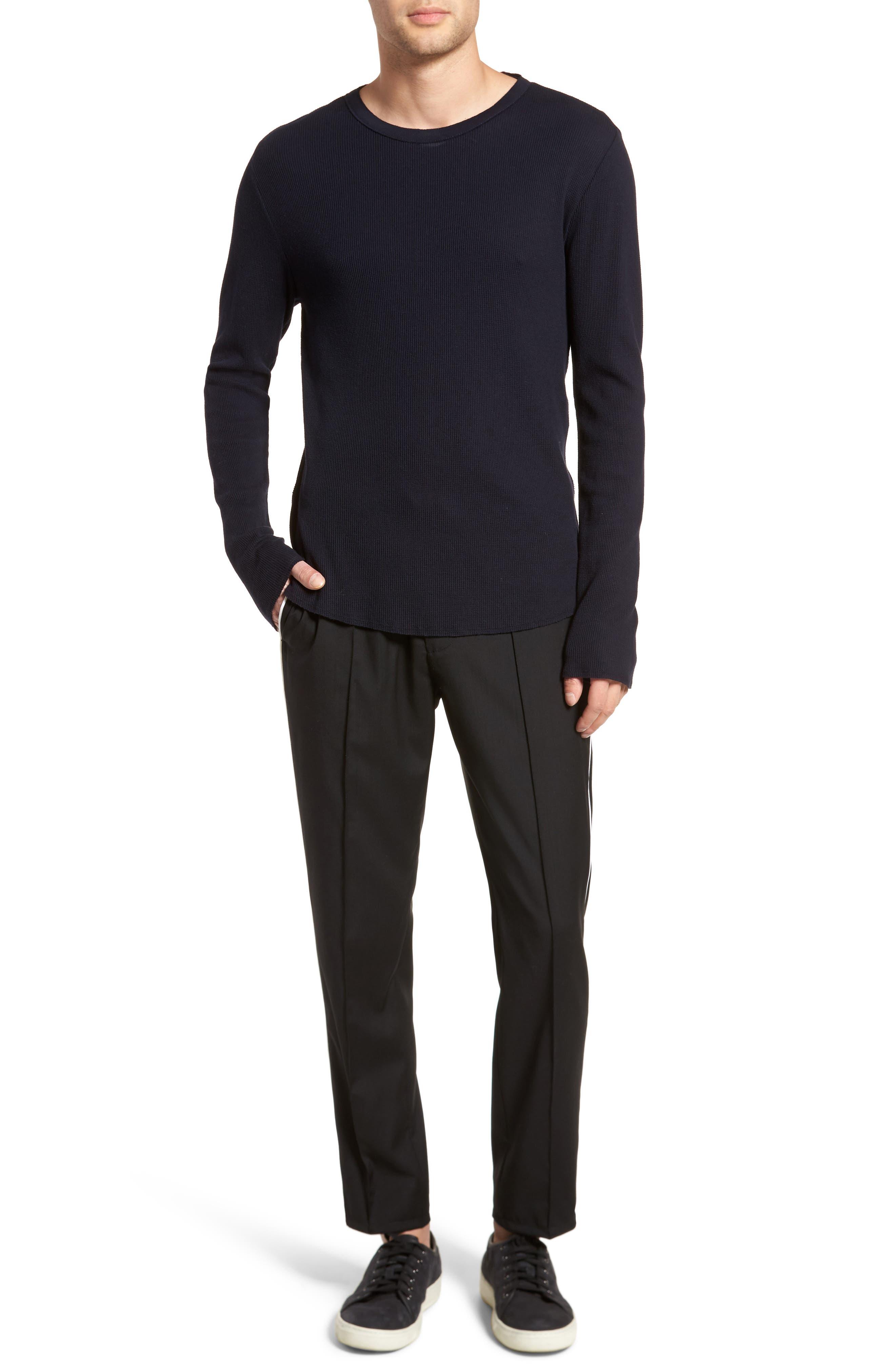 Thermal Knit Long Sleeve T-Shirt,                             Alternate thumbnail 21, color,