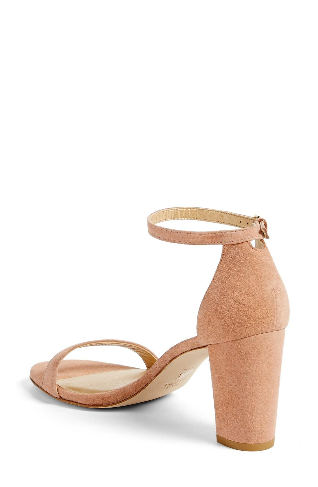 NearlyNude Ankle Strap Sandal,                             Alternate thumbnail 72, color,