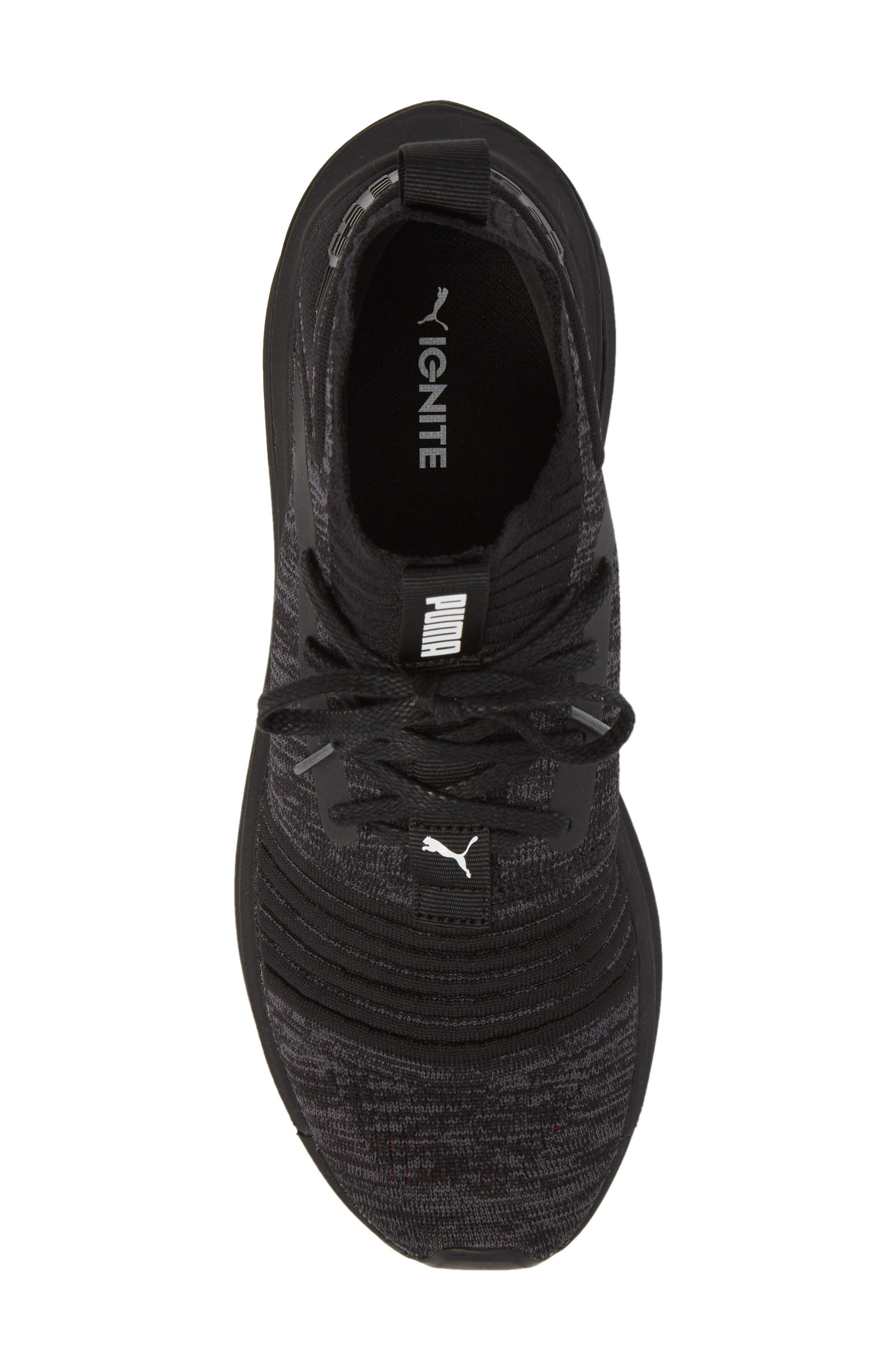 IGNITE Limitless SR evoKNIT Sneaker,                             Alternate thumbnail 5, color,                             001