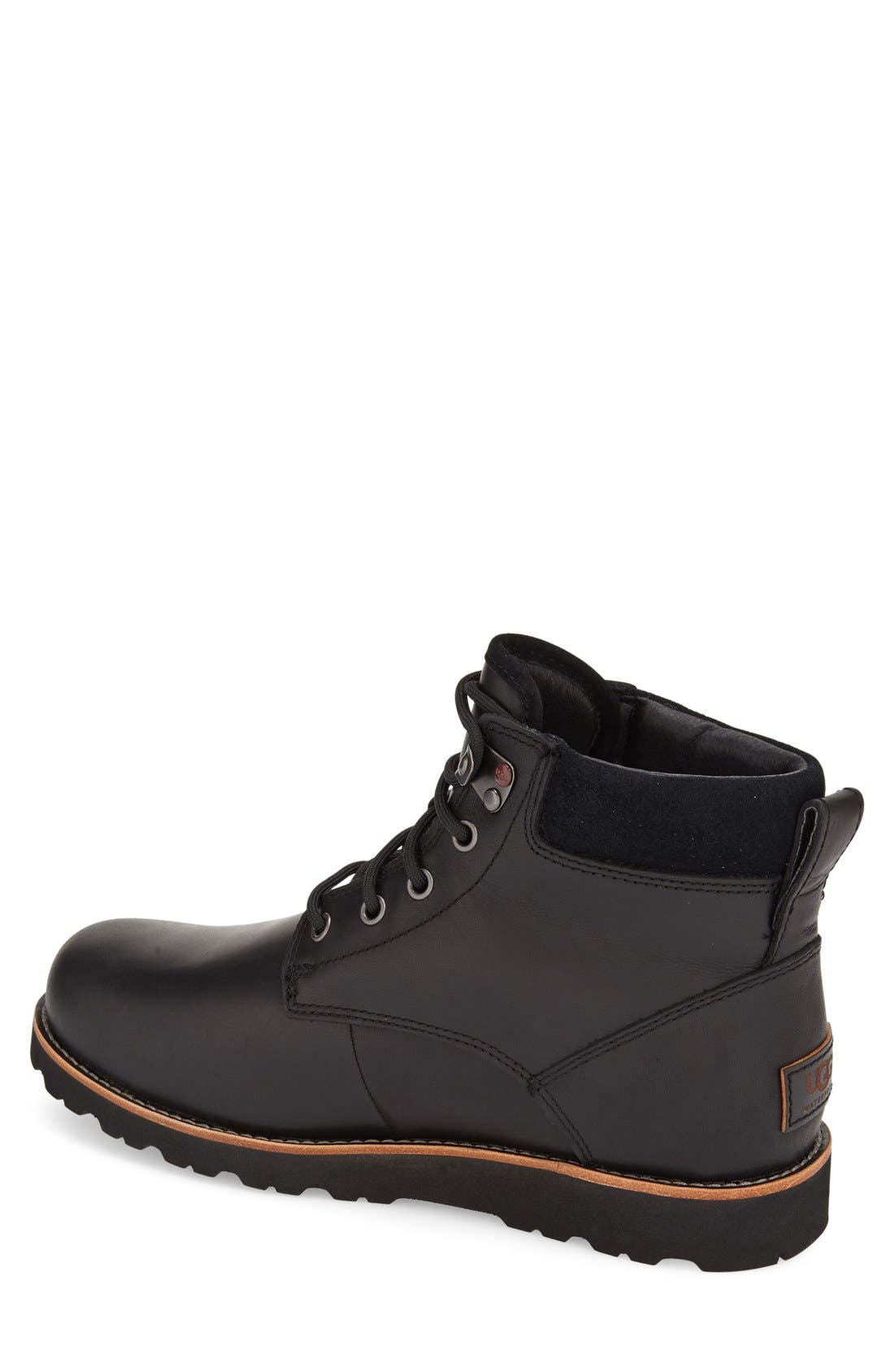 Seton Waterproof Chukka Boot,                             Alternate thumbnail 2, color,                             BLACK