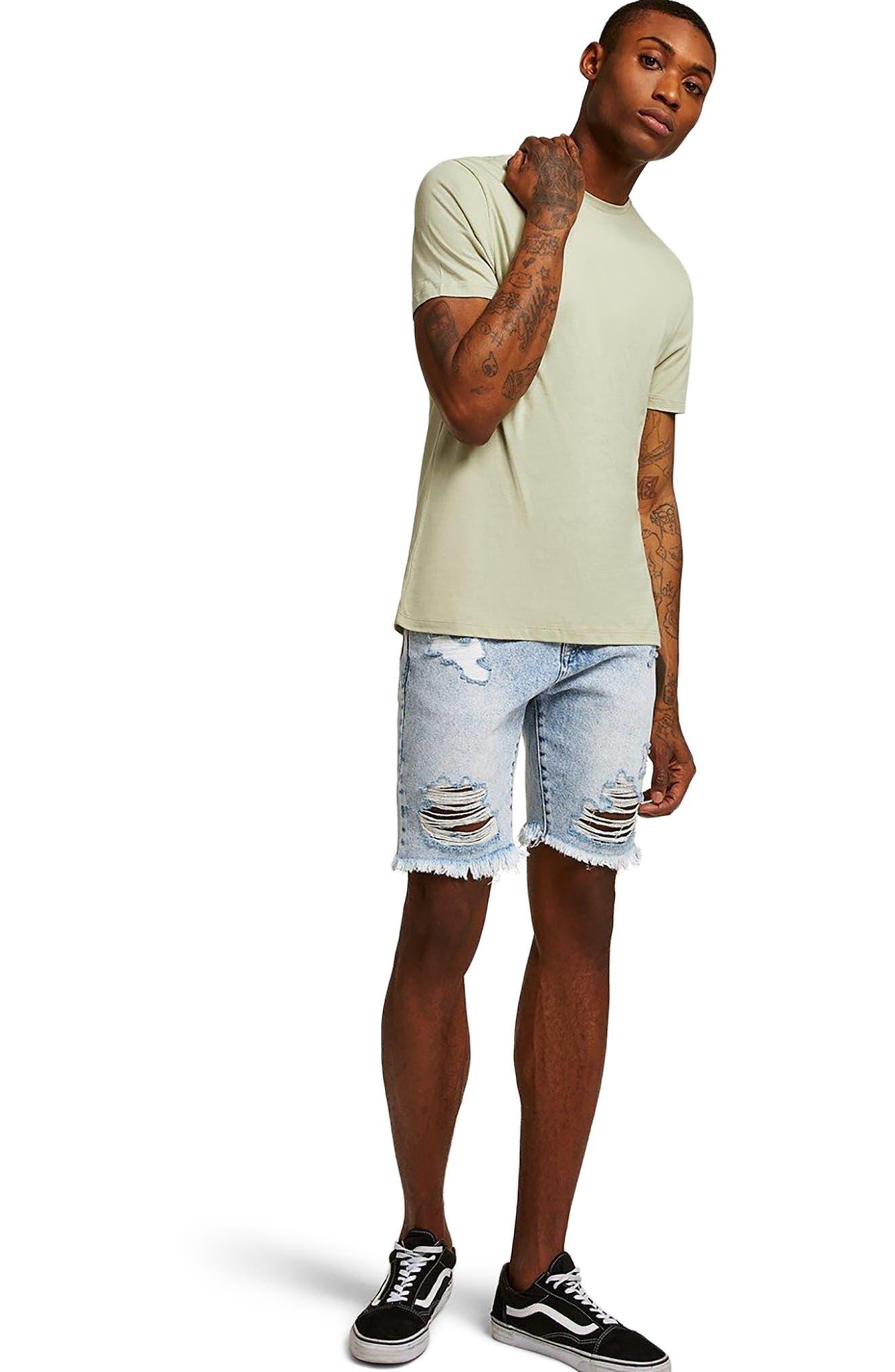 Slim Fit Crewneck T-Shirt,                             Alternate thumbnail 383, color,