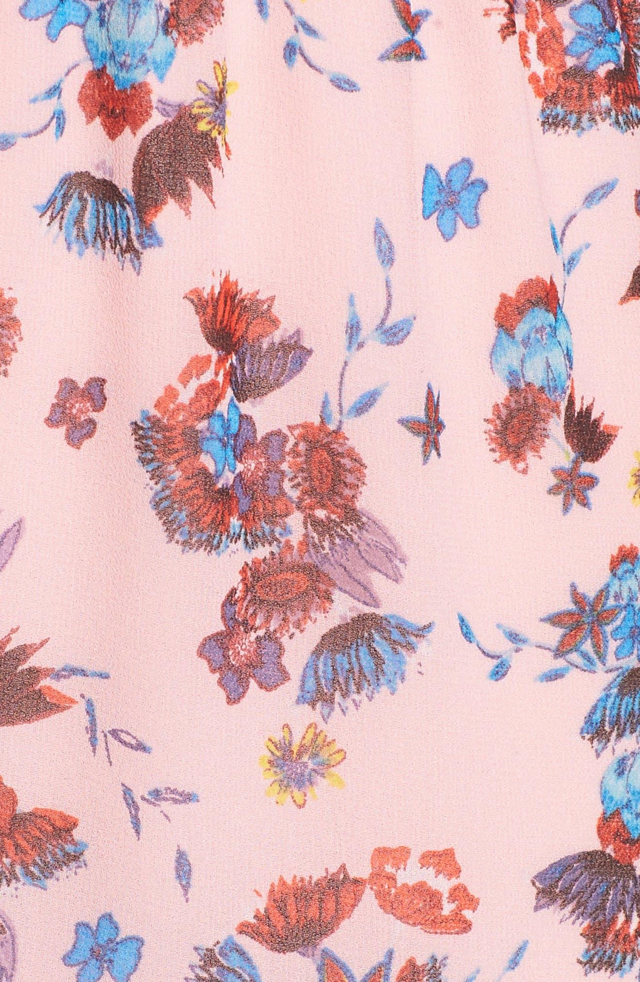 Kika Dress,                             Alternate thumbnail 7, color,                             PINK MULTI