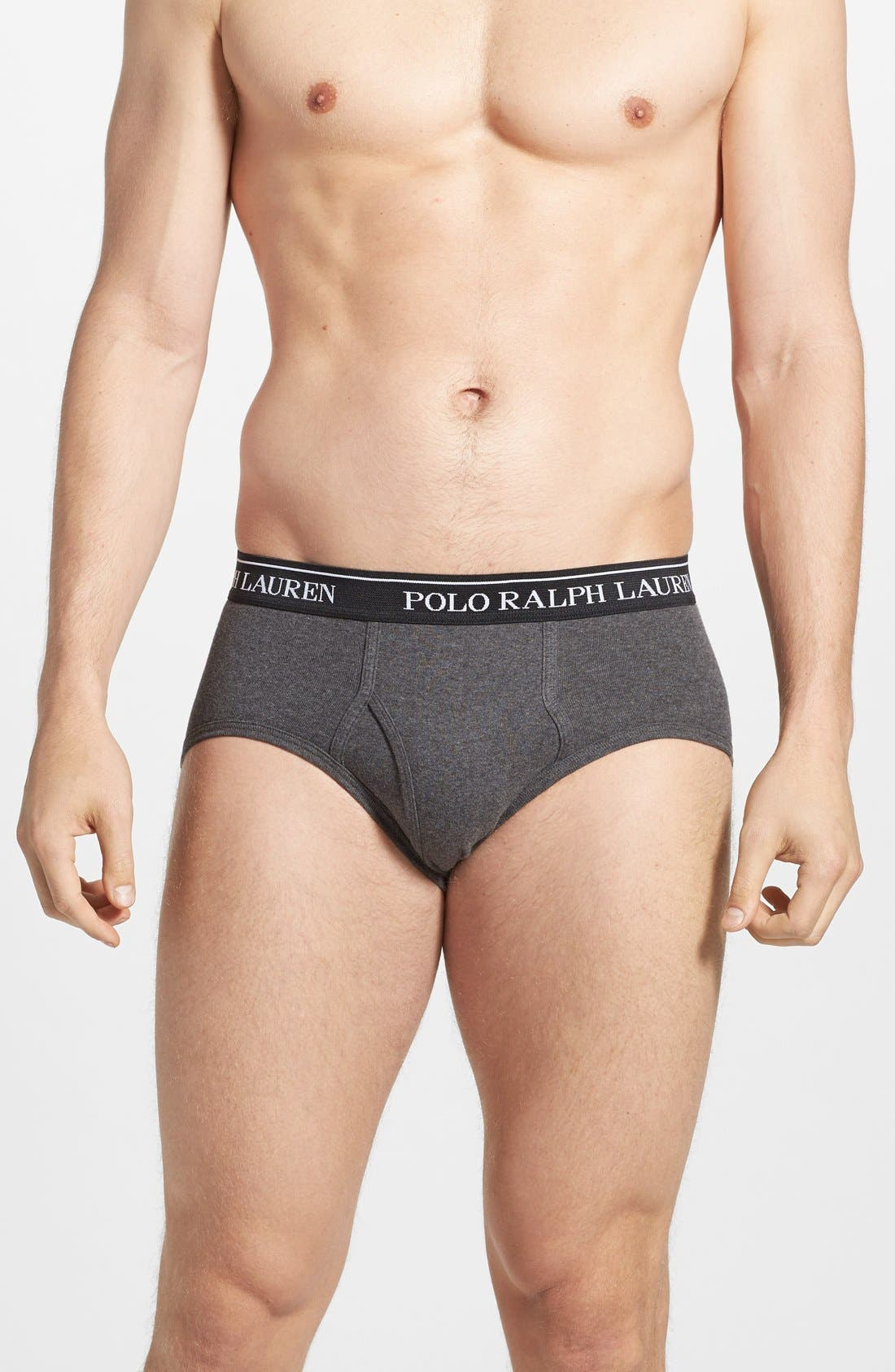 4-Pack Low Rise Briefs,                             Alternate thumbnail 4, color,                             BLACK/ GREY ASSORTED