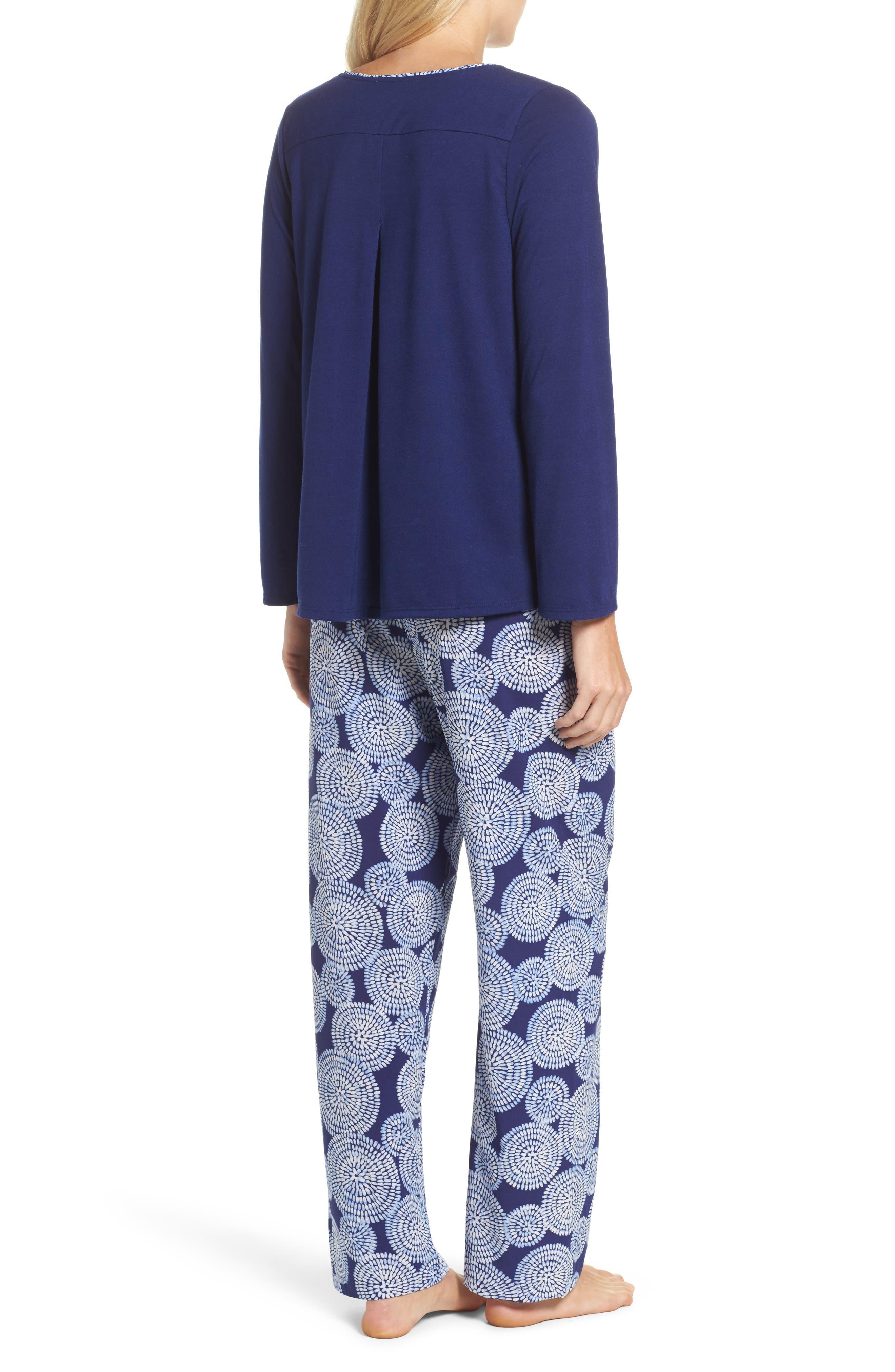 Sleepwear Pajamas,                             Alternate thumbnail 2, color,                             498