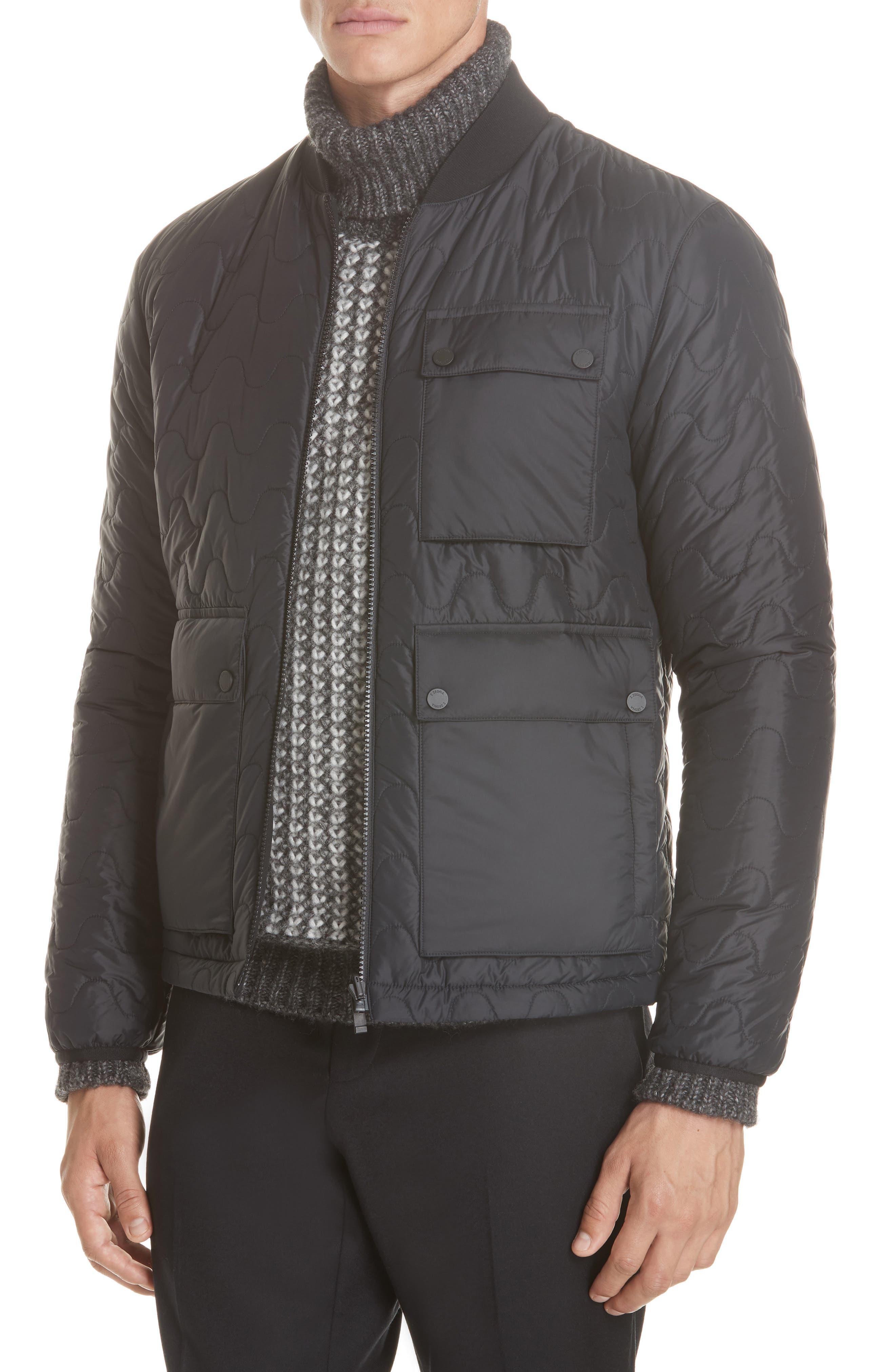 Z Zenga Trim Fit 3-in-1 Jacket,                             Alternate thumbnail 2, color,                             BLACK