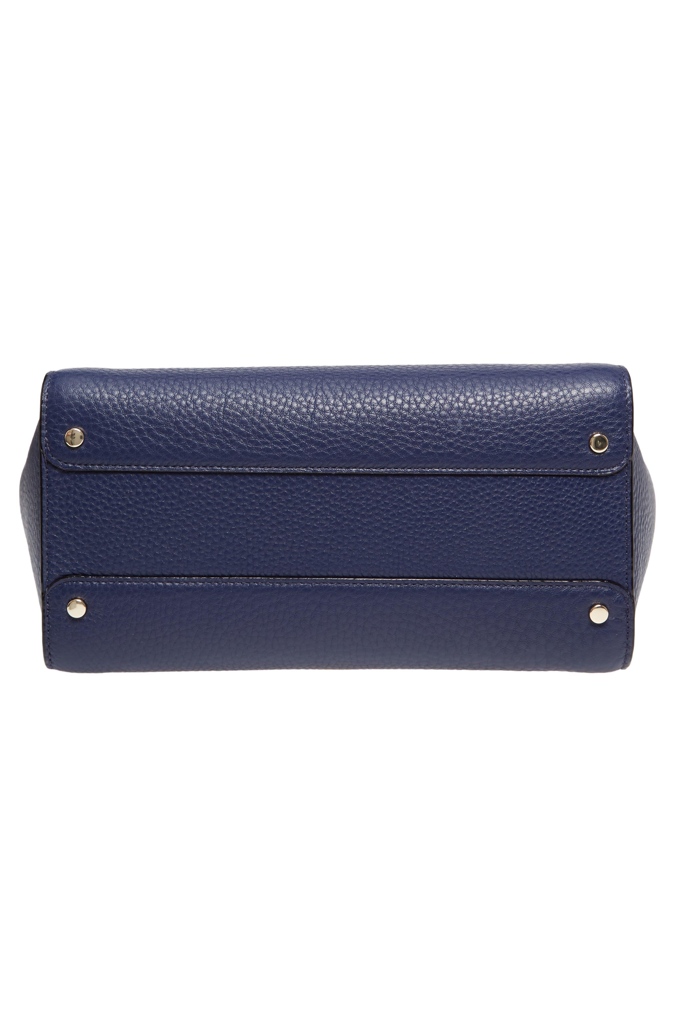 carlyle street - alexa leather satchel,                             Alternate thumbnail 12, color,