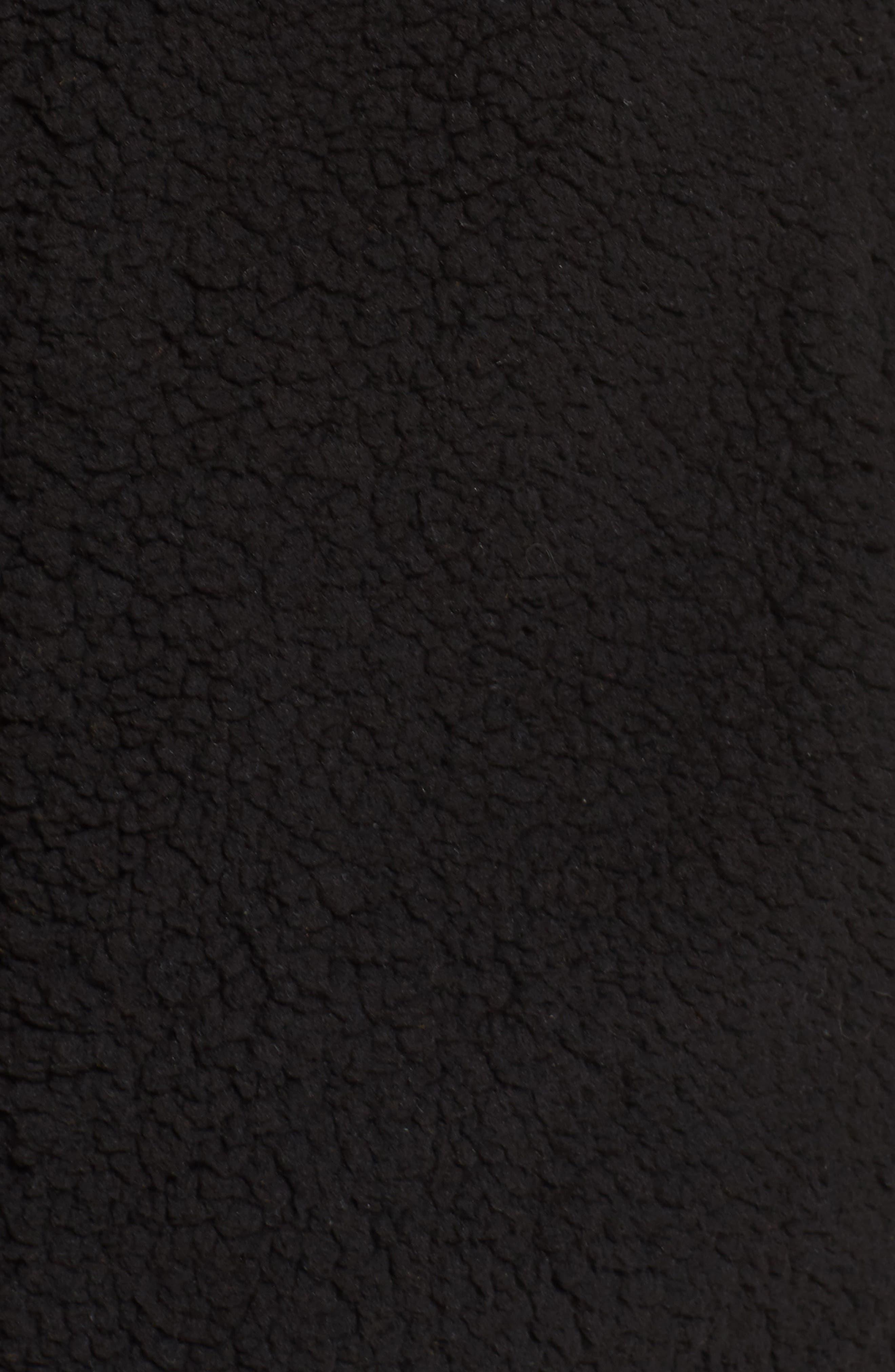 Stevie Fleece Jacket,                             Alternate thumbnail 7, color,                             001