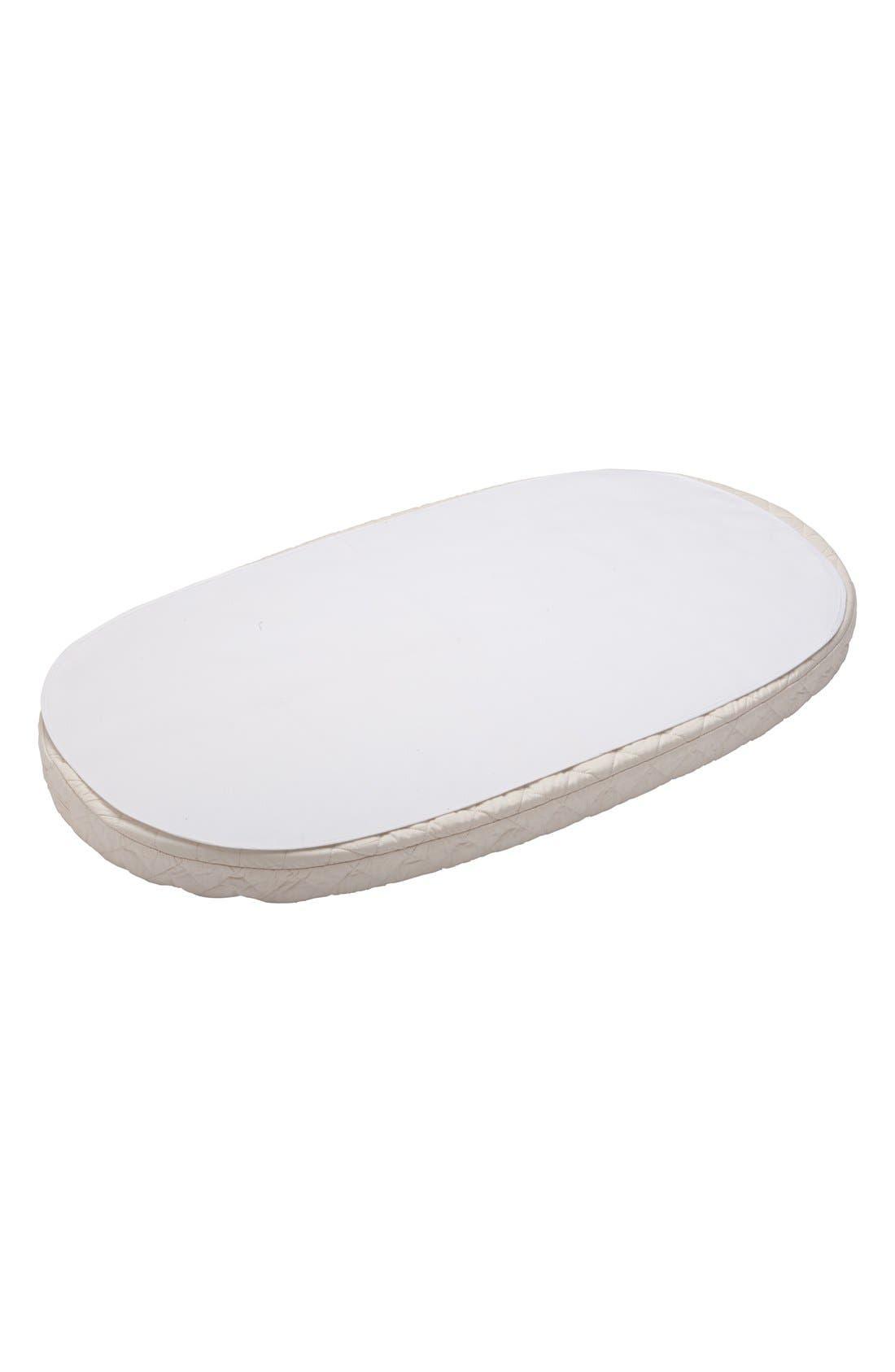 STOKKE Sleepi Waterproof Crib Sheet, Main, color, WHITE