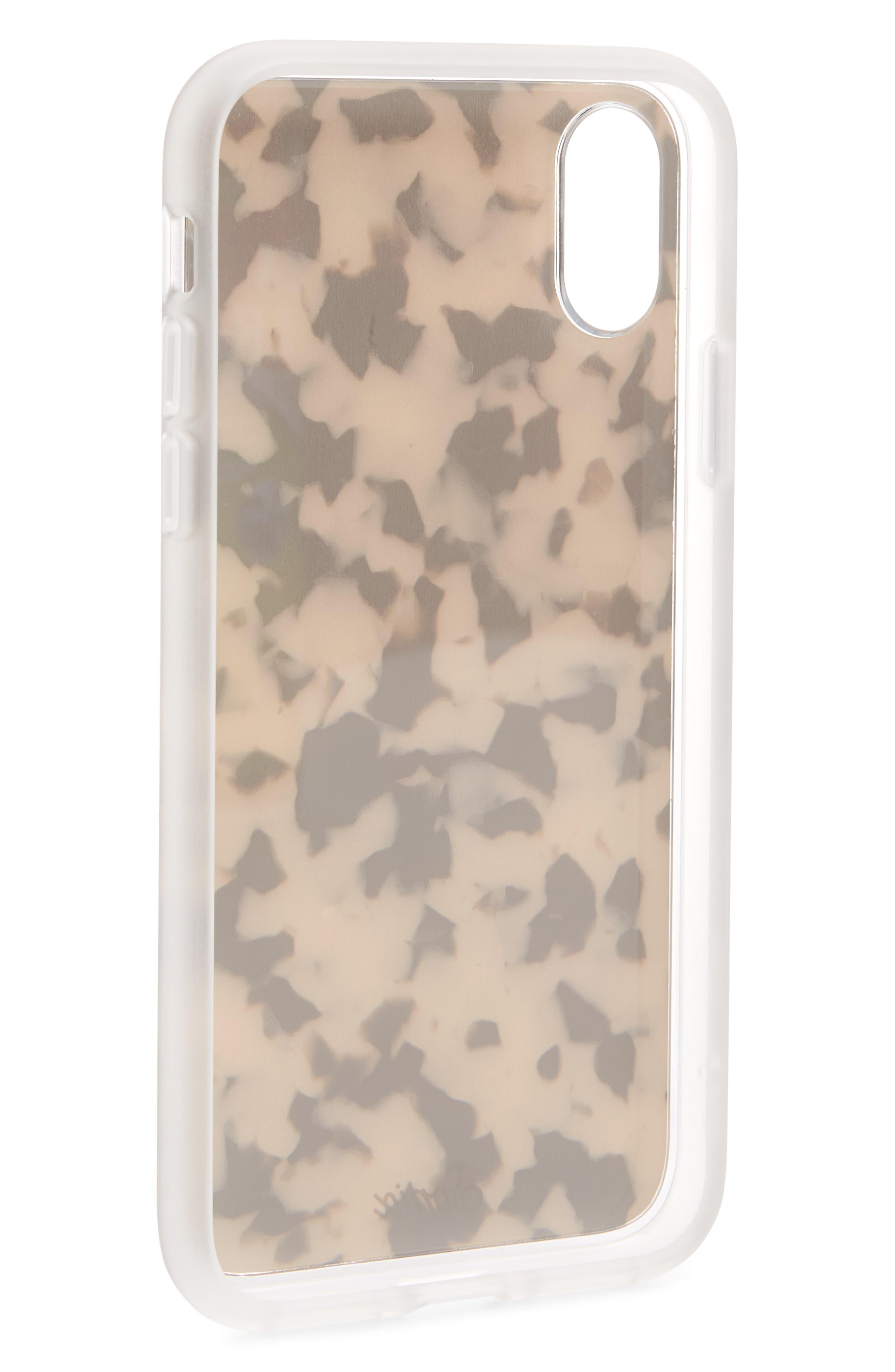 Milky Tortoise iPhone 6/6s/7/8 Case,                             Alternate thumbnail 3, color,
