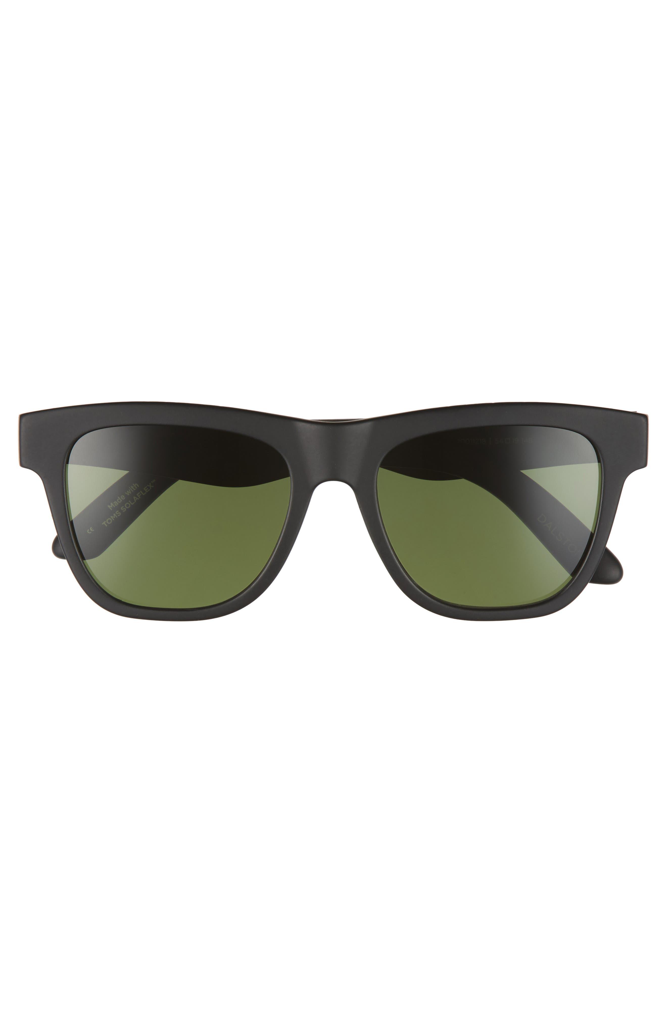 TOMS,                             Dalston 54mm Polarized Sunglasses,                             Alternate thumbnail 2, color,                             001