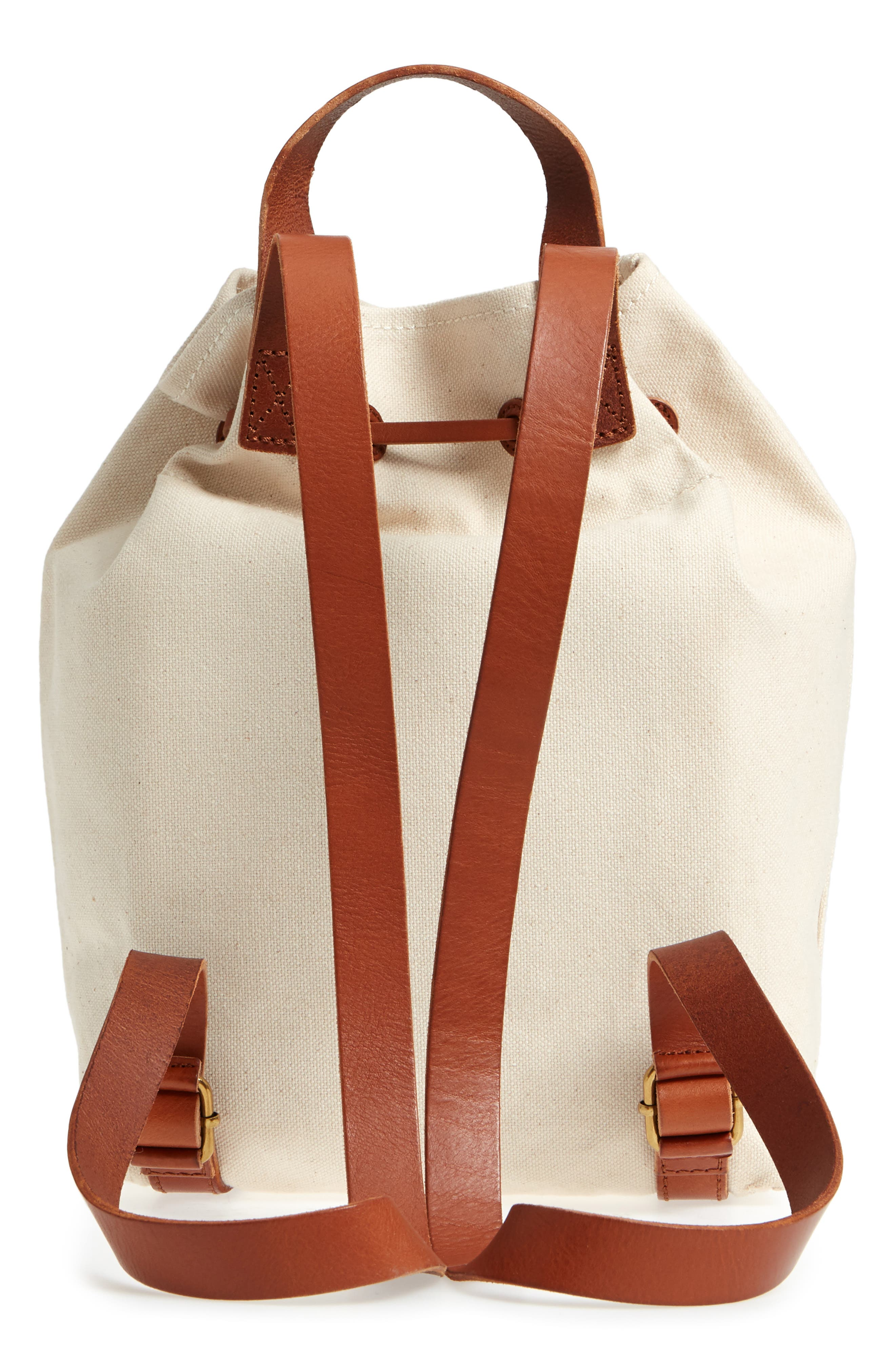 Somerset Canvas Backpack,                             Alternate thumbnail 12, color,