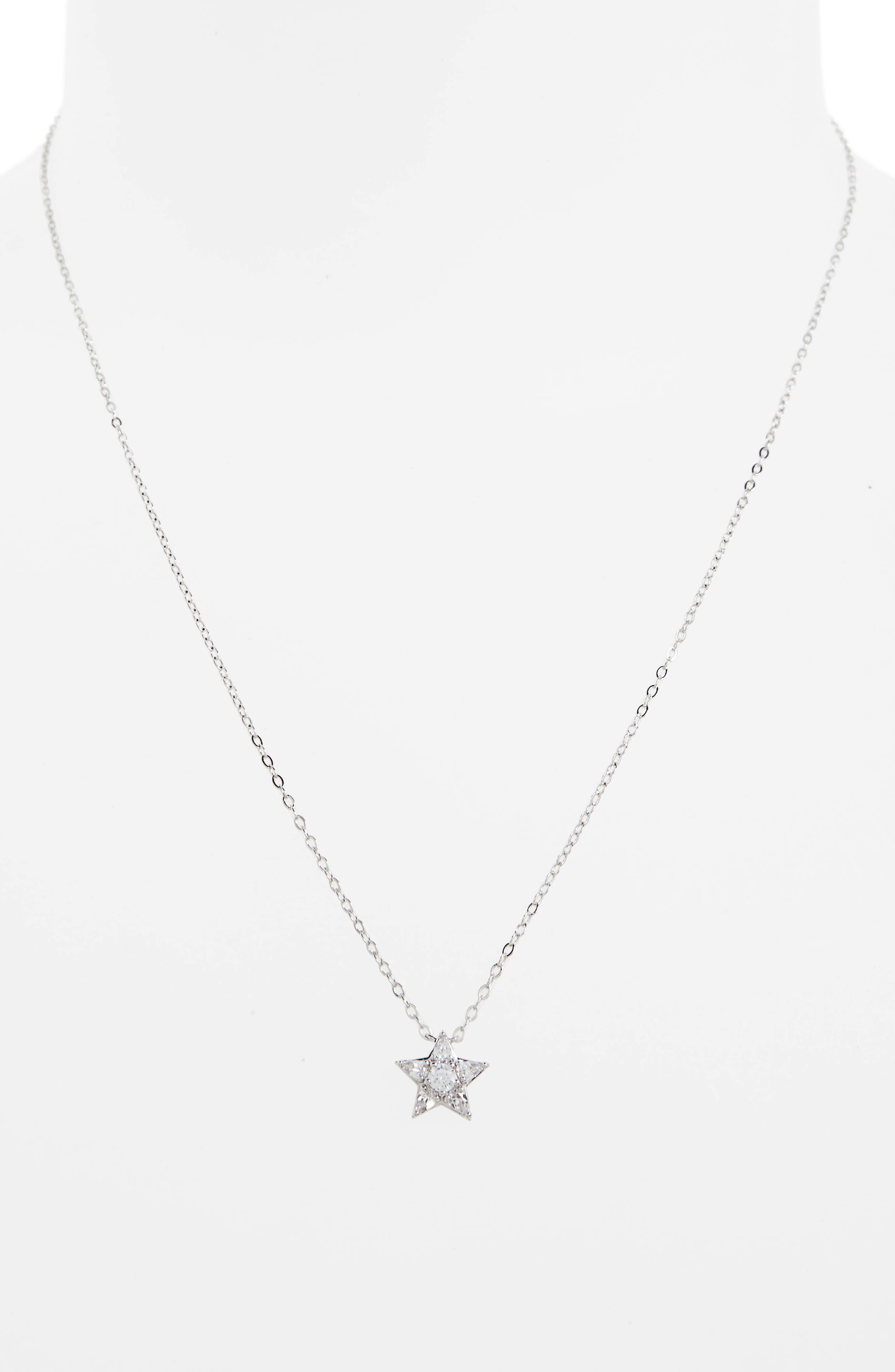 Reminisce Star Pendant Necklace,                             Alternate thumbnail 2, color,                             044